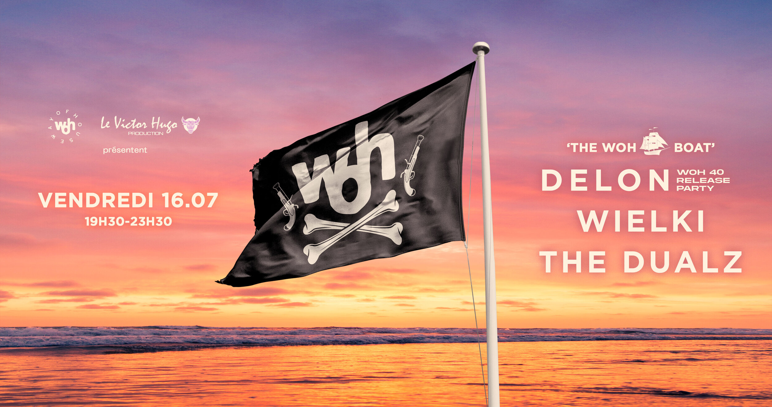 THE WOH BOAT PARTY