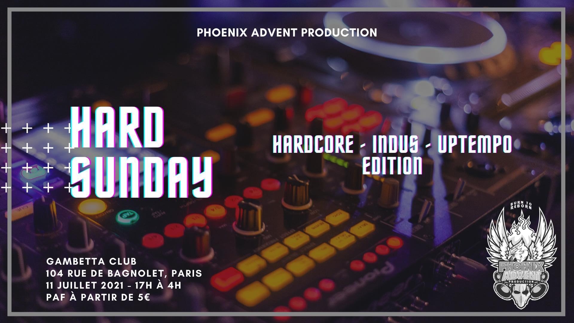 Hard Sunday: Hardcore / Indus / Uptempo Edition