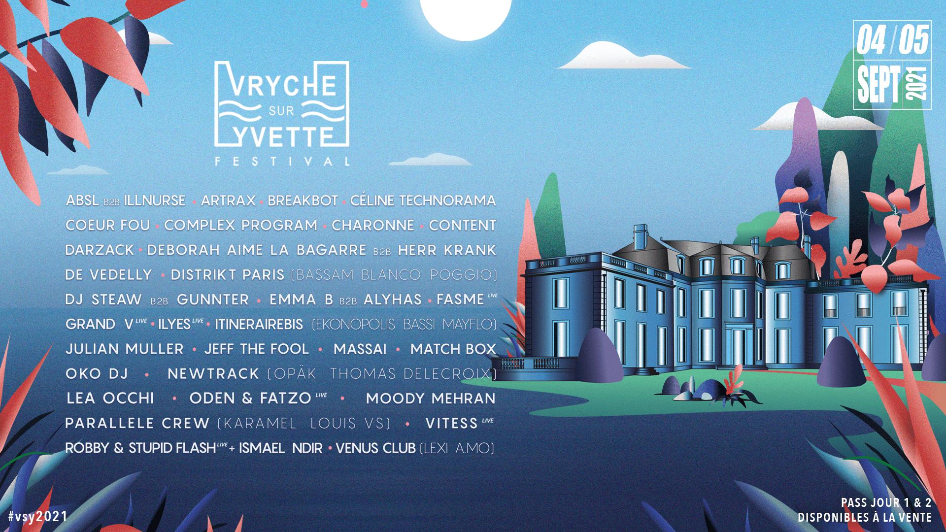 Vryche Sur Yvette Festival 2021