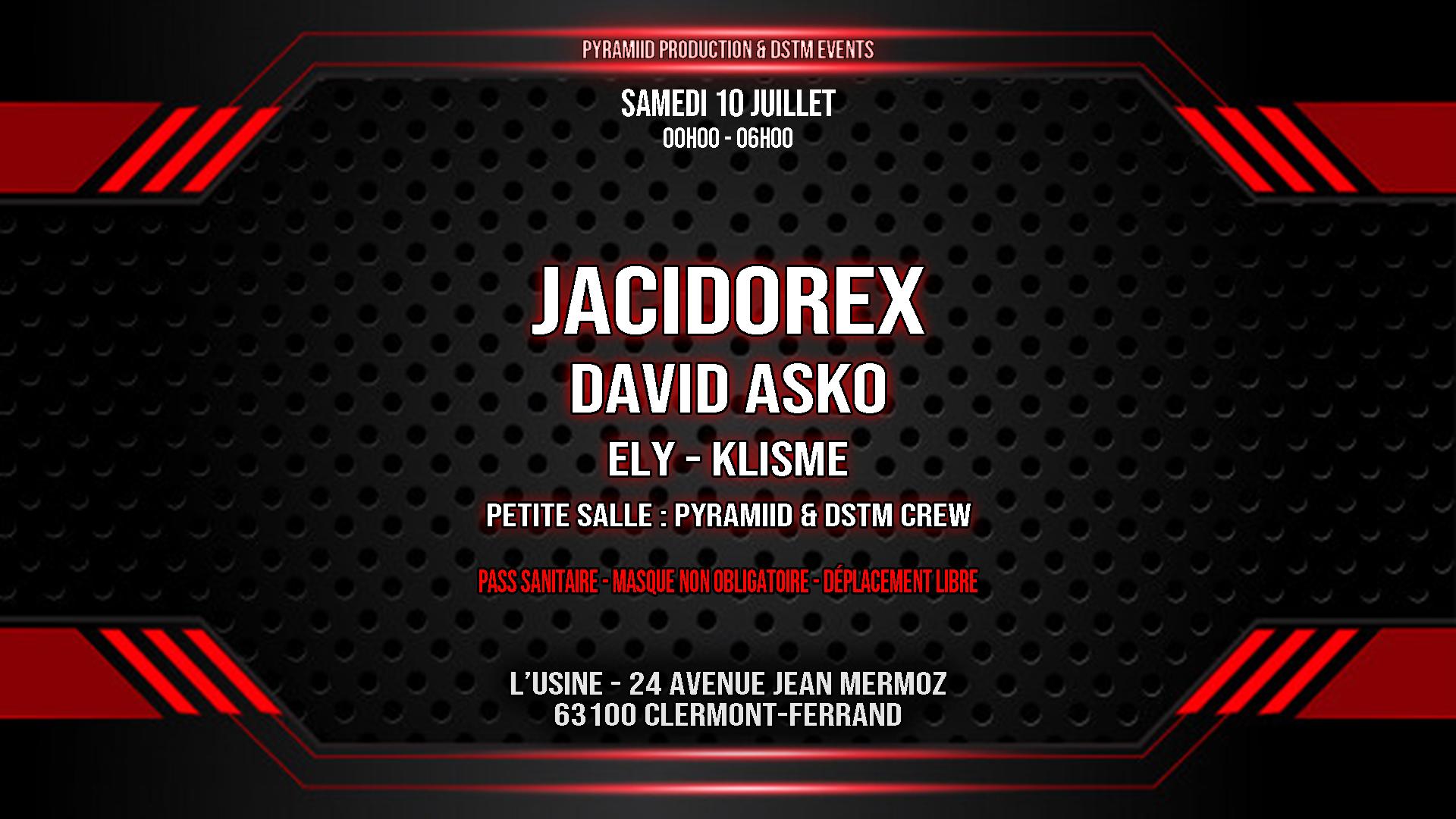 JACIDOREX & DAVID ASKO @ CLERMONT FERRAND