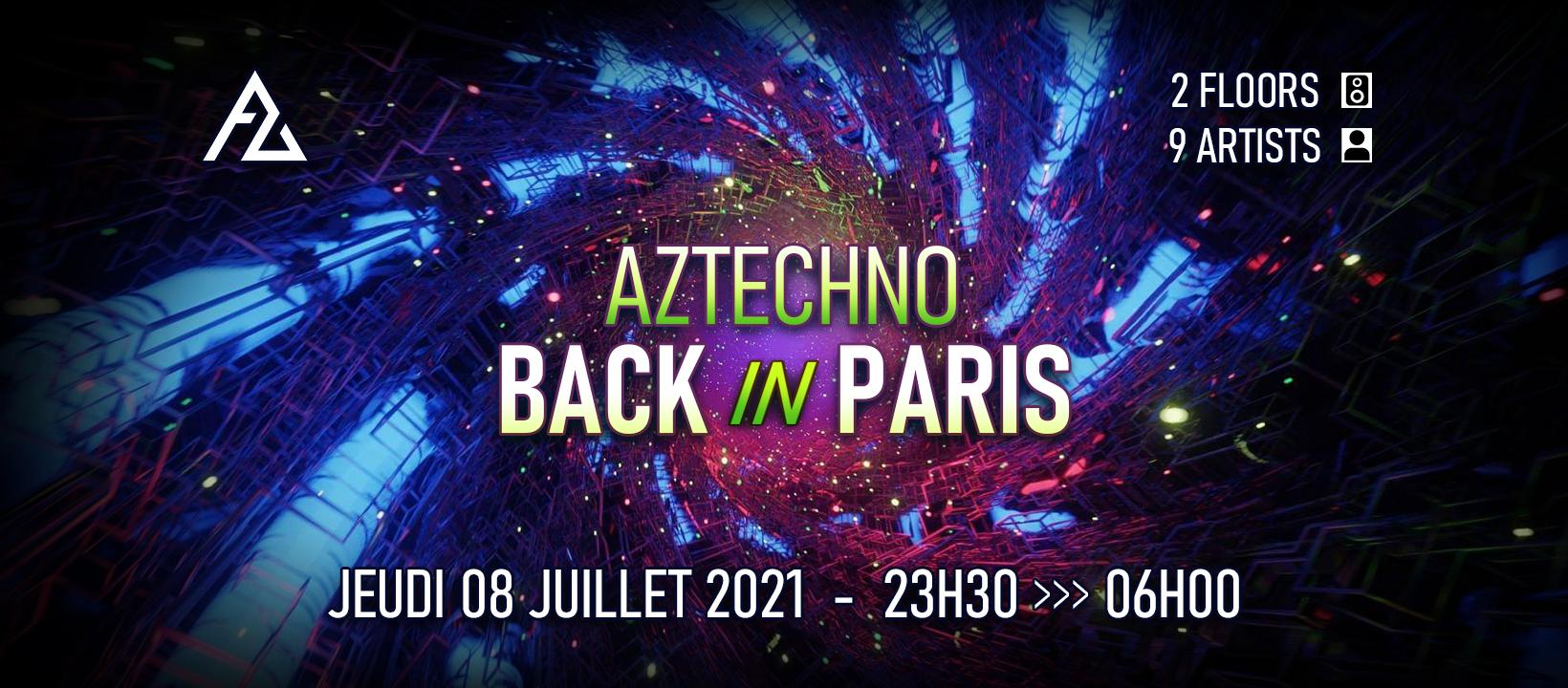 Aztechno back in Paris