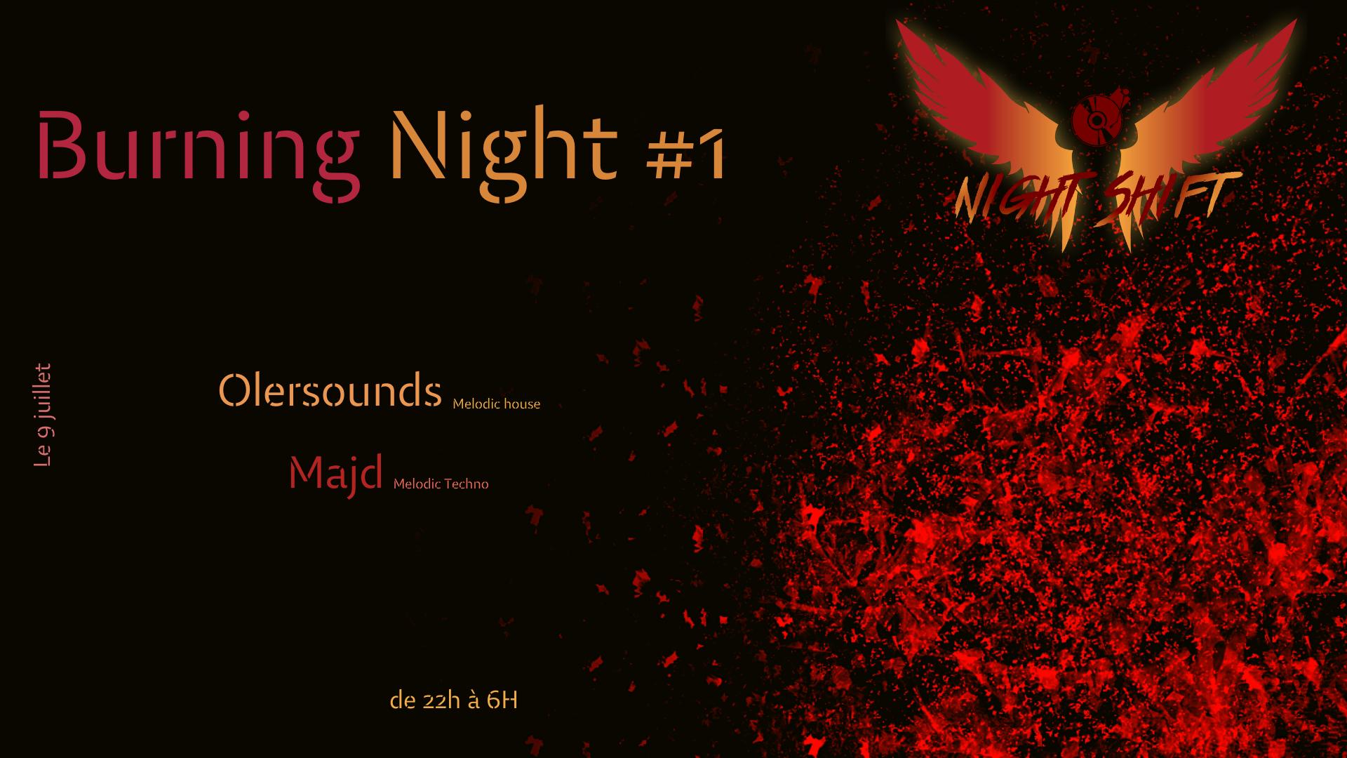 Burning Night #1 - Melodic House & Techno
