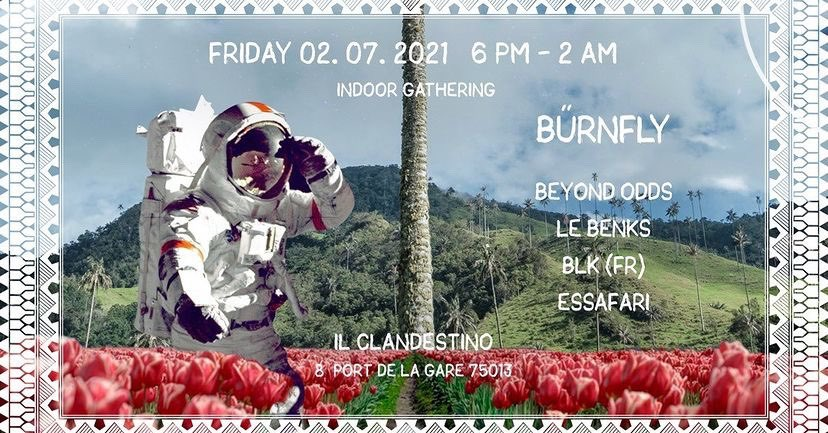 IL Clandestino invites : Burnfly
