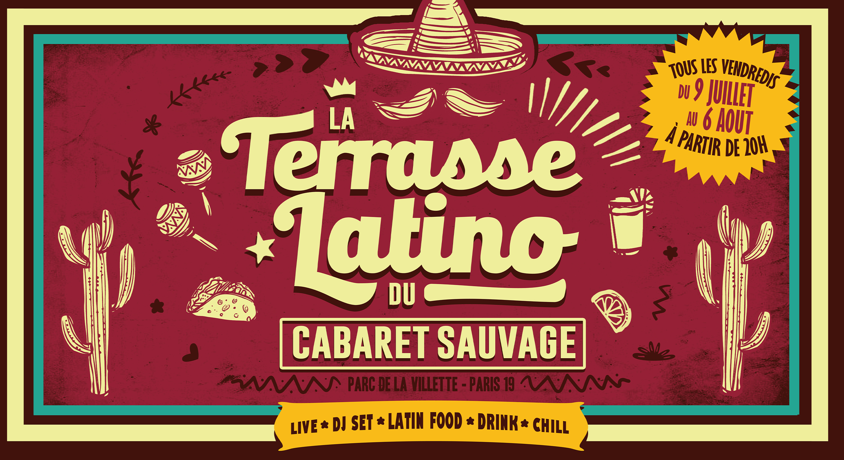 La Terrasse Latino - Vendredi 30 Juillet 2021