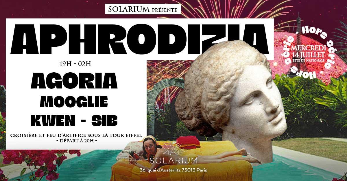 APHRODIZIA HORS SERIE | Agoria, Mooglie, Kwen et Sib