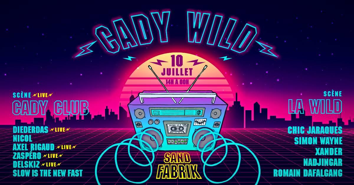 Cady Wild : Pantin City Beach