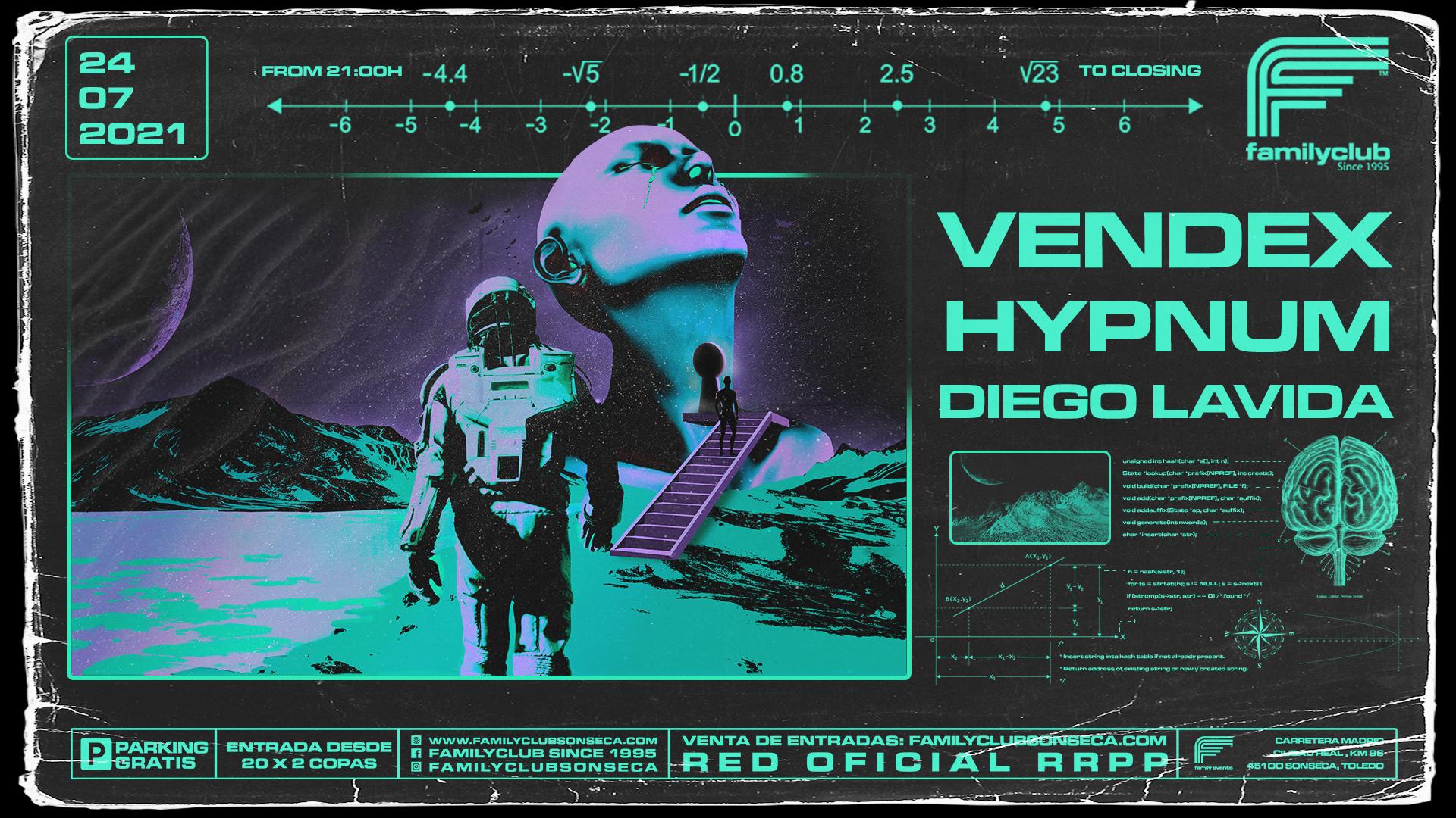 Vendex & Hypnum - Family Events Terraza