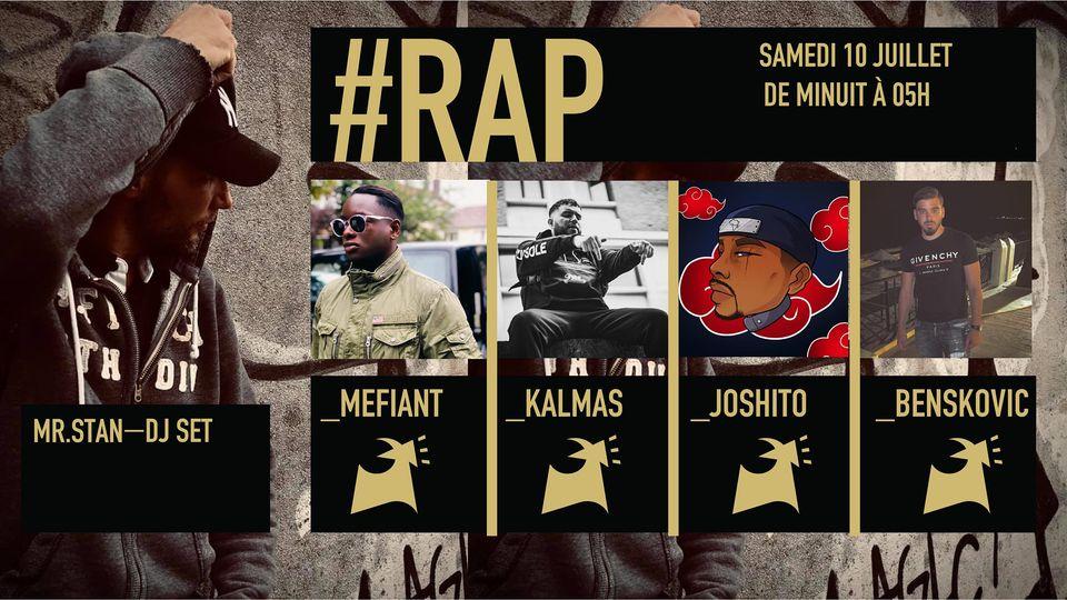 Open Session Rap : MR.STAN - MEFIANT - KALMAS - JOSHITO