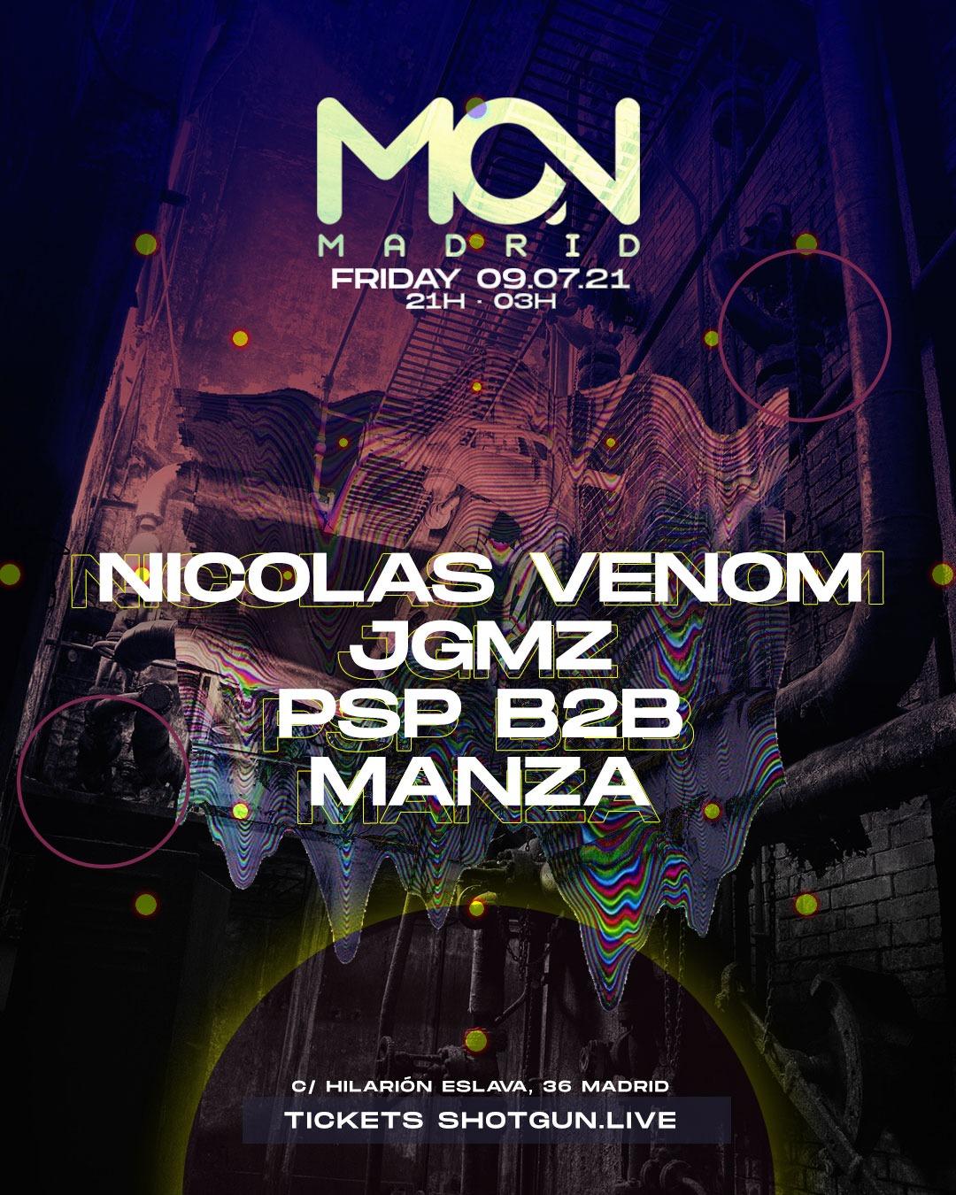 Mon Club: Nicolas Venom, JGMZ & PSP b2b Manza