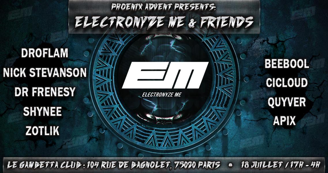 Phoenix Advent presents: Electronyze Me & Friends