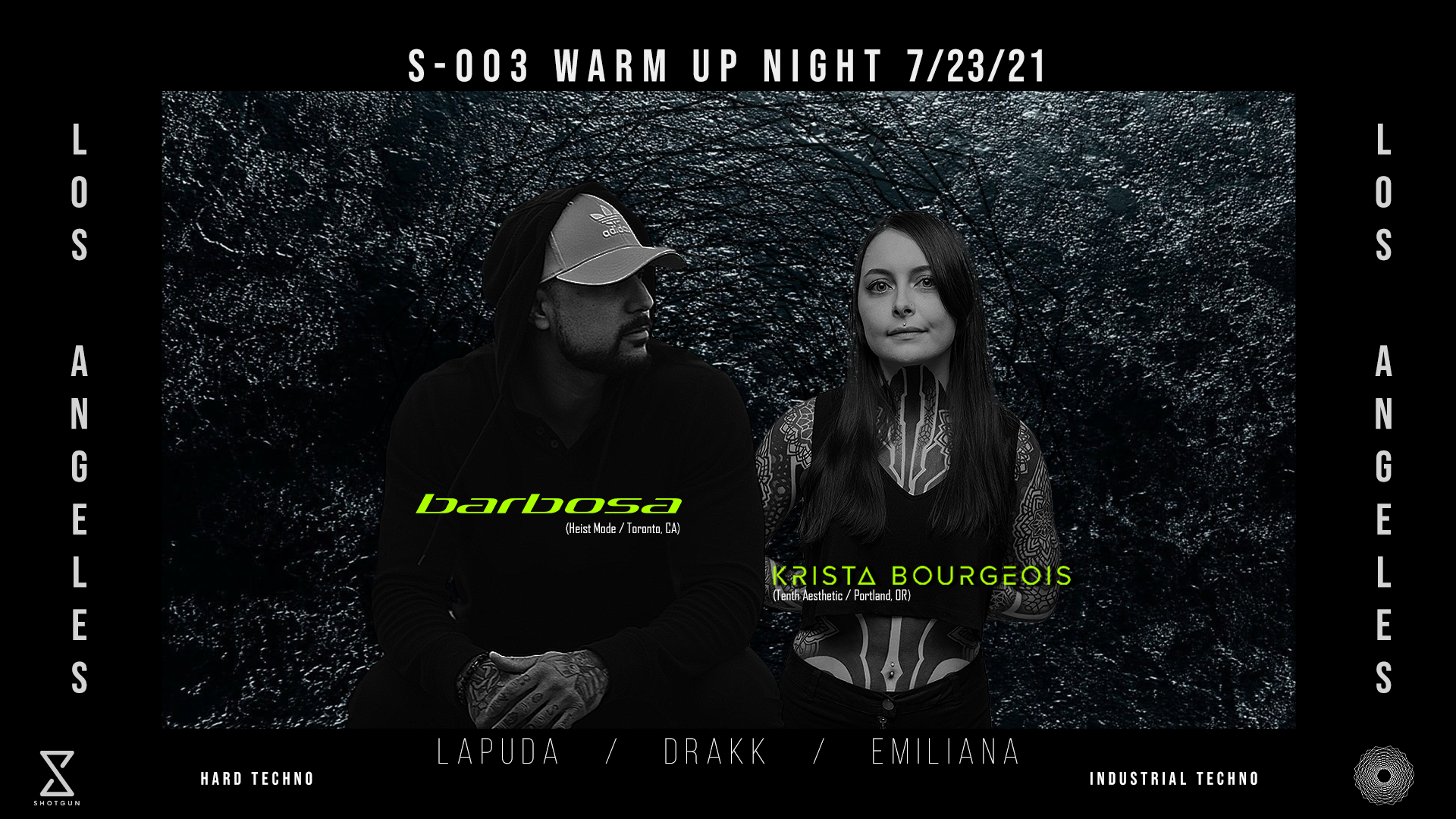 S-003 Warm Up Night ft. Barbosa, Krista Bourgeois + More