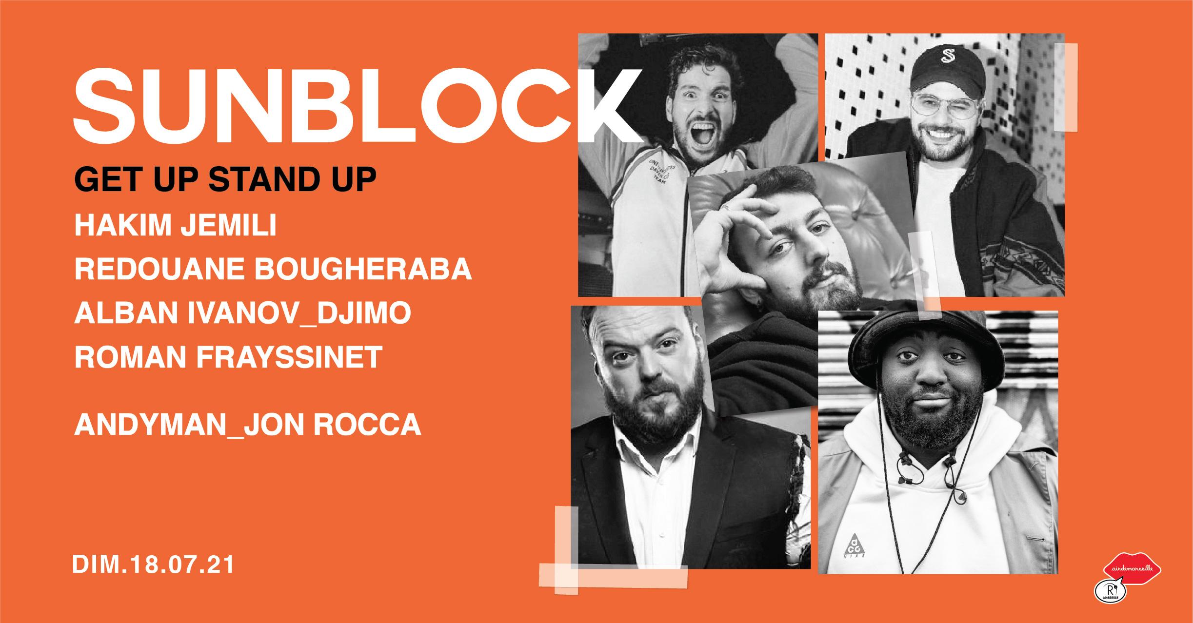 SUNBLOCK - GET UP STAND UP - LA CLIQUE