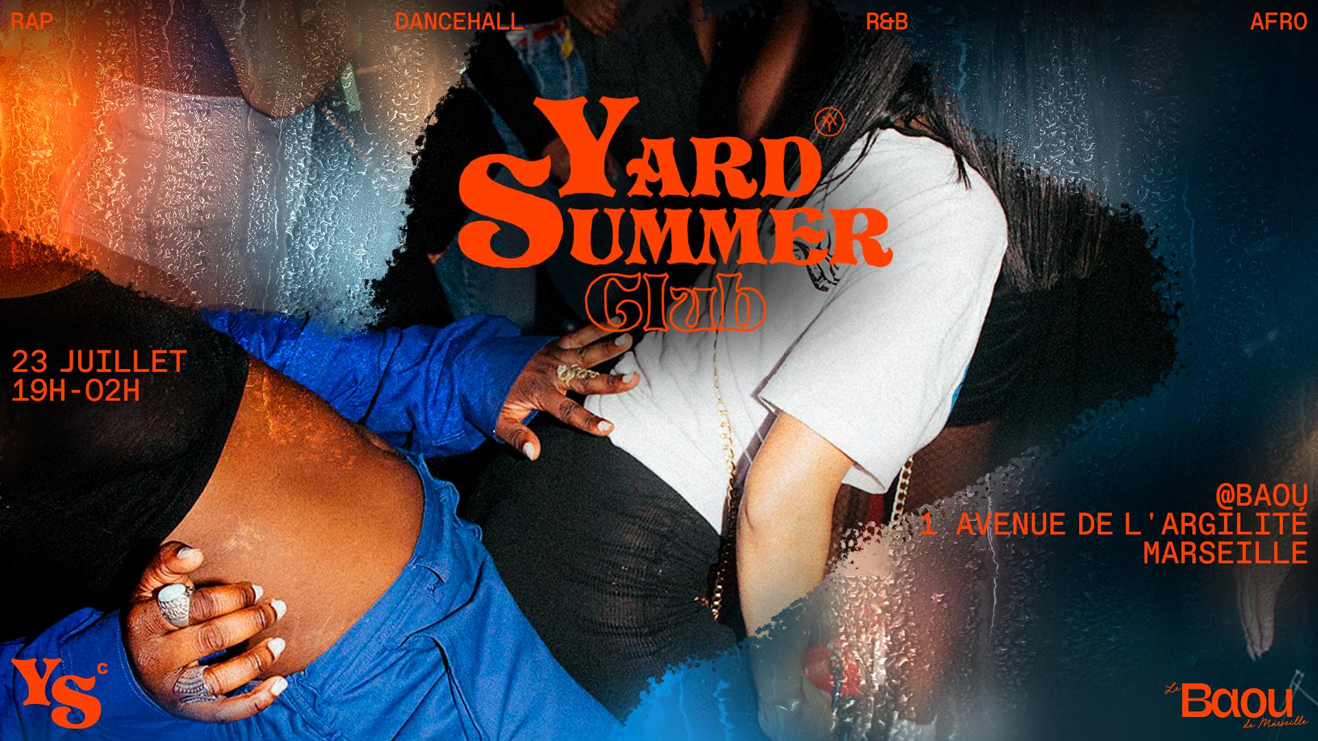 YARD SUMMER CLUB x BAOU