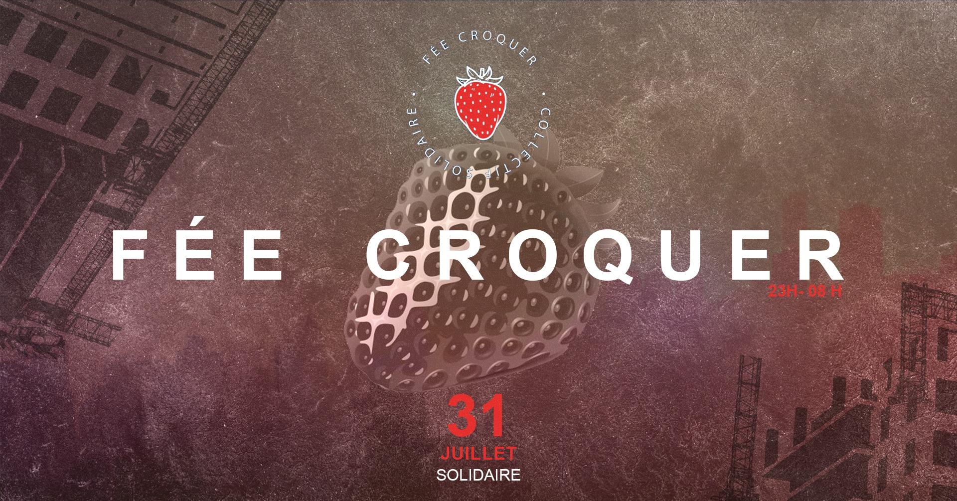 Fée croquer - Open Air - 31 juillet