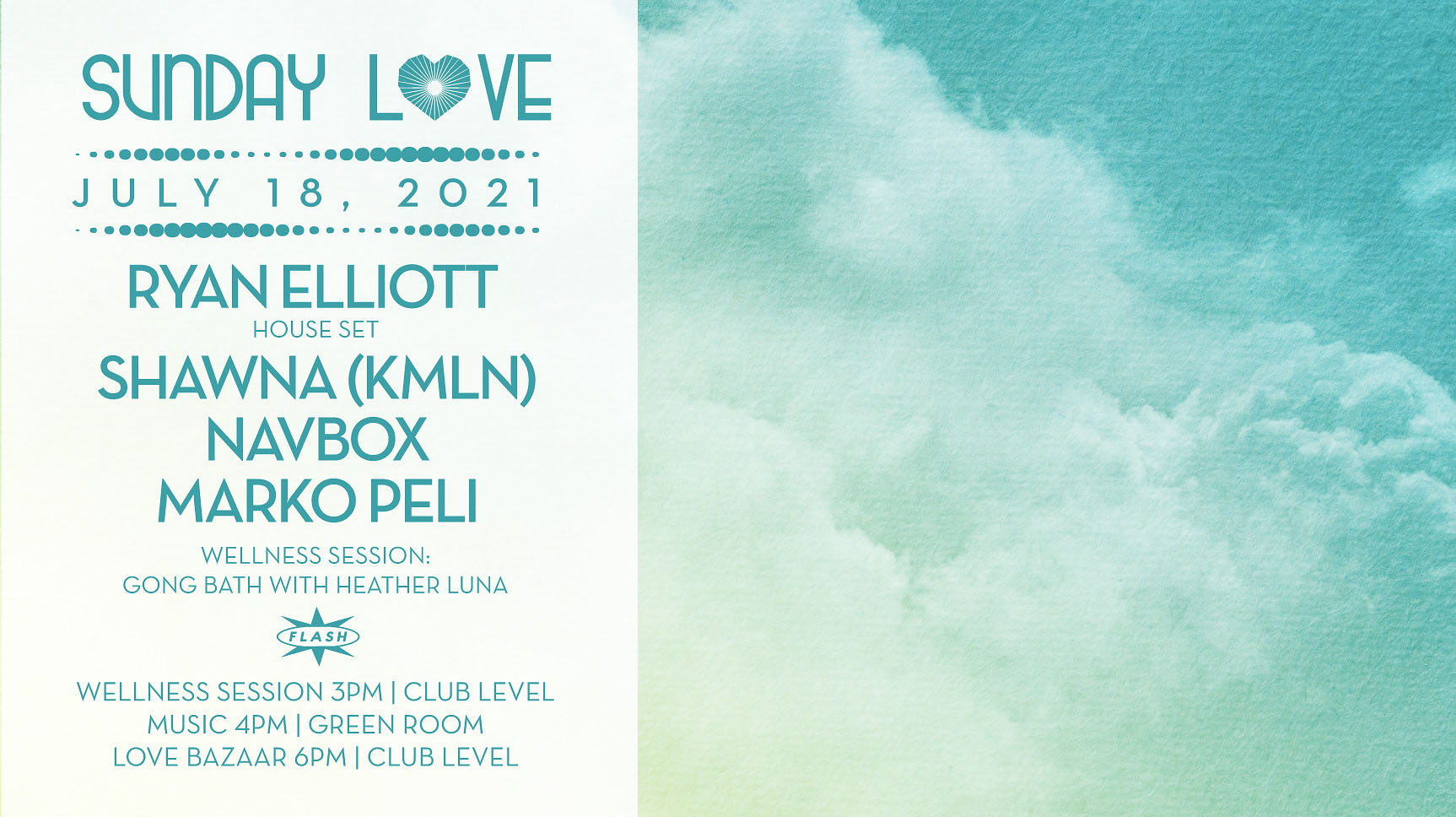 Sunday Love: Ryan Elliott - Shawna (KMLN) - Navbox - Marko Peli