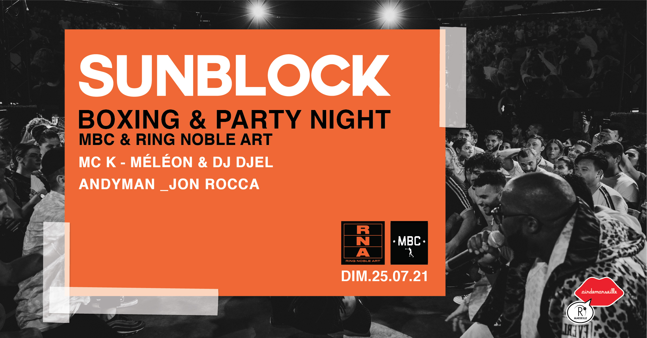 SUNBLOCK - BOXING NIGHT AND PARTY NIGHT