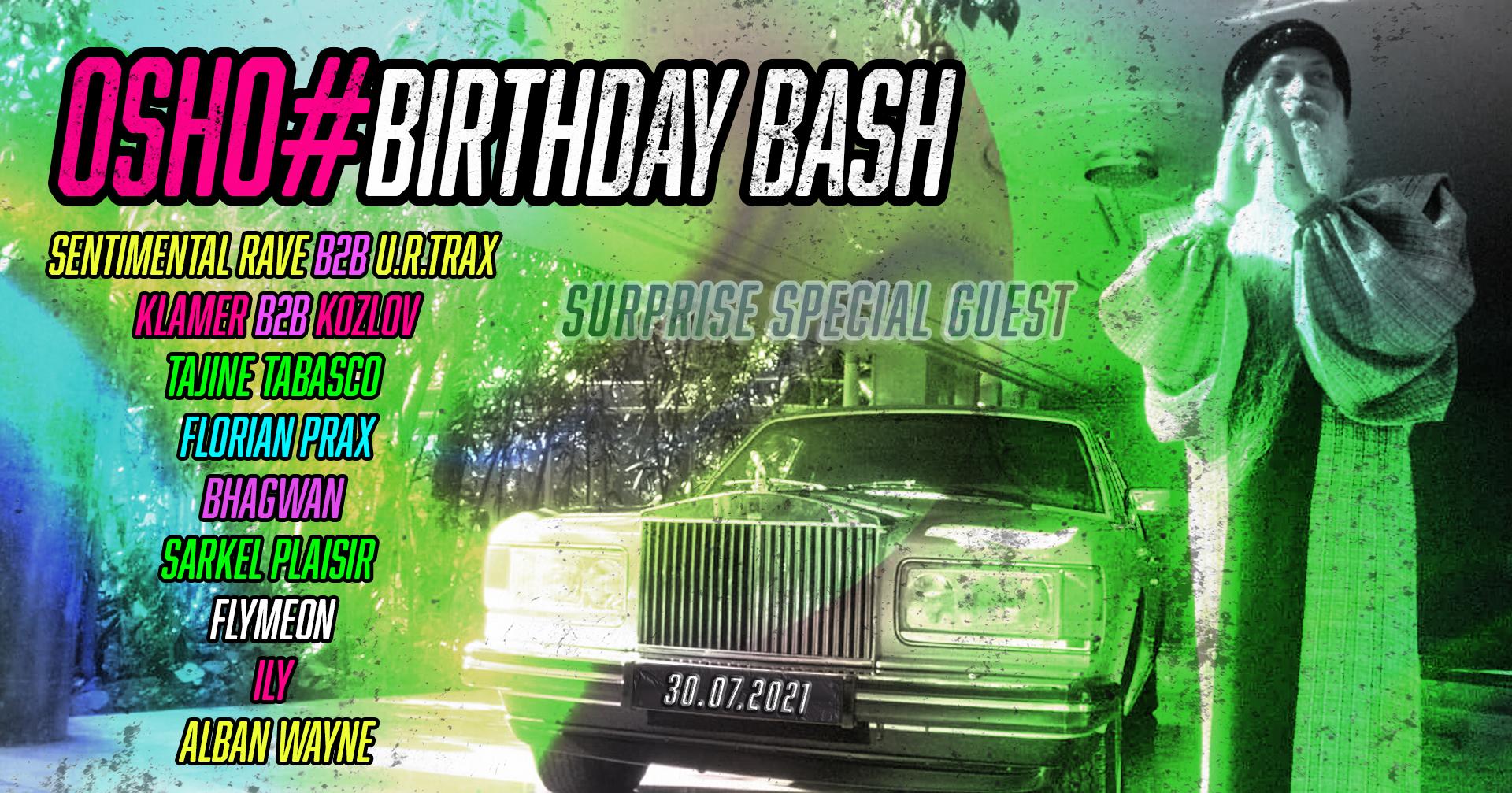 Osho# Birthday Bash