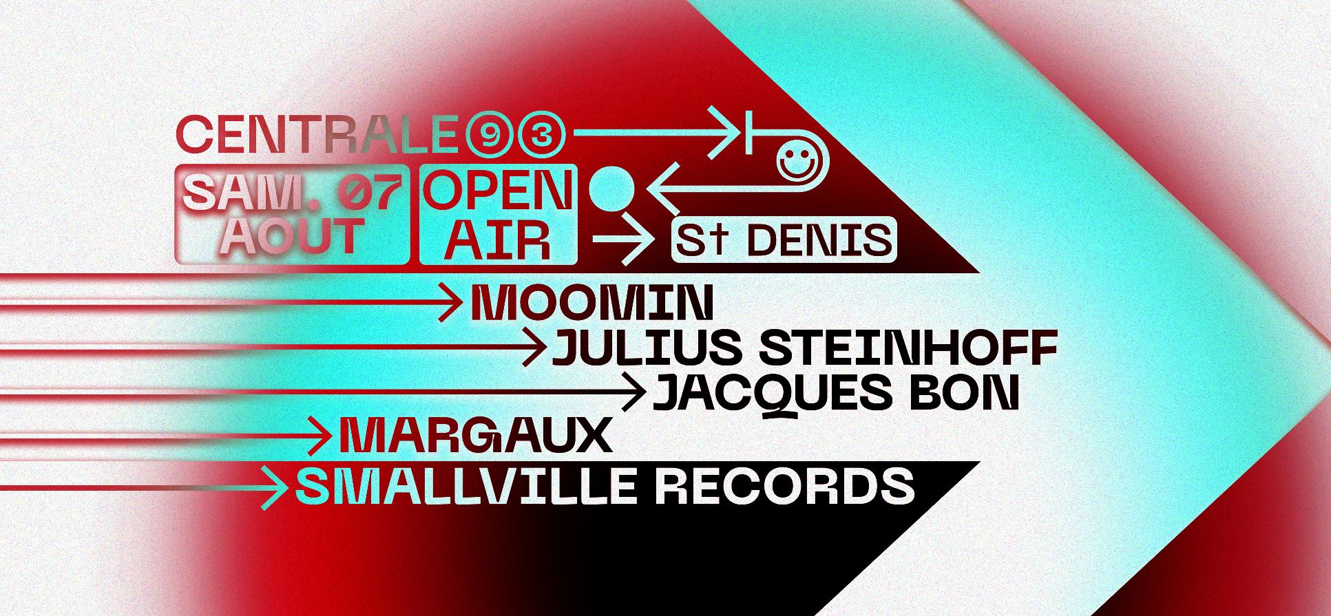 Centrale93 x Smallville Records: Moomin, Julius Steinhoff & more
