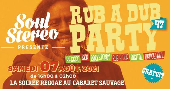 RUB A DUB PARTY #47