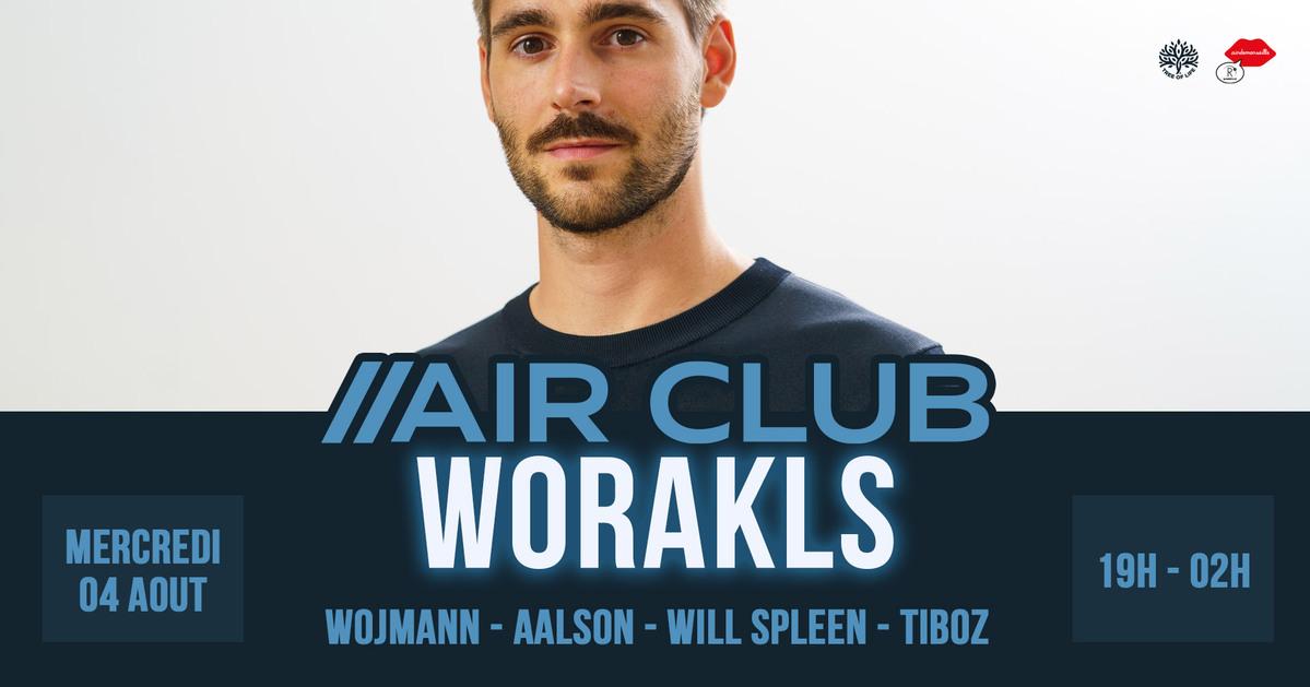 R2 Rooftop x Air Club : WORAKLS