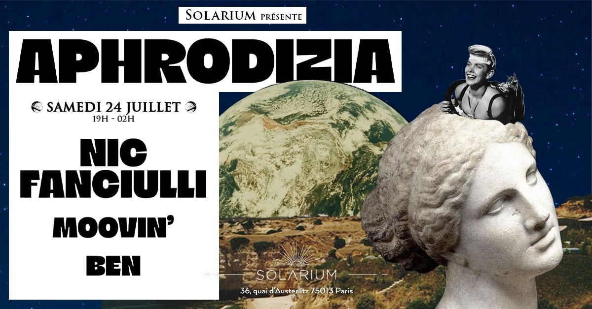 APHRODIZIA | Nic Fanciulli, Moovin et Ben