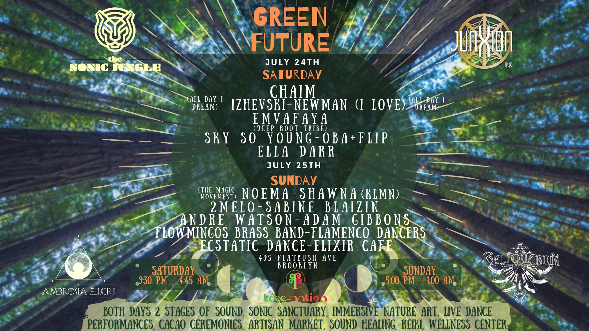 Sonic Jungle & Junxion Present: Green Future!!