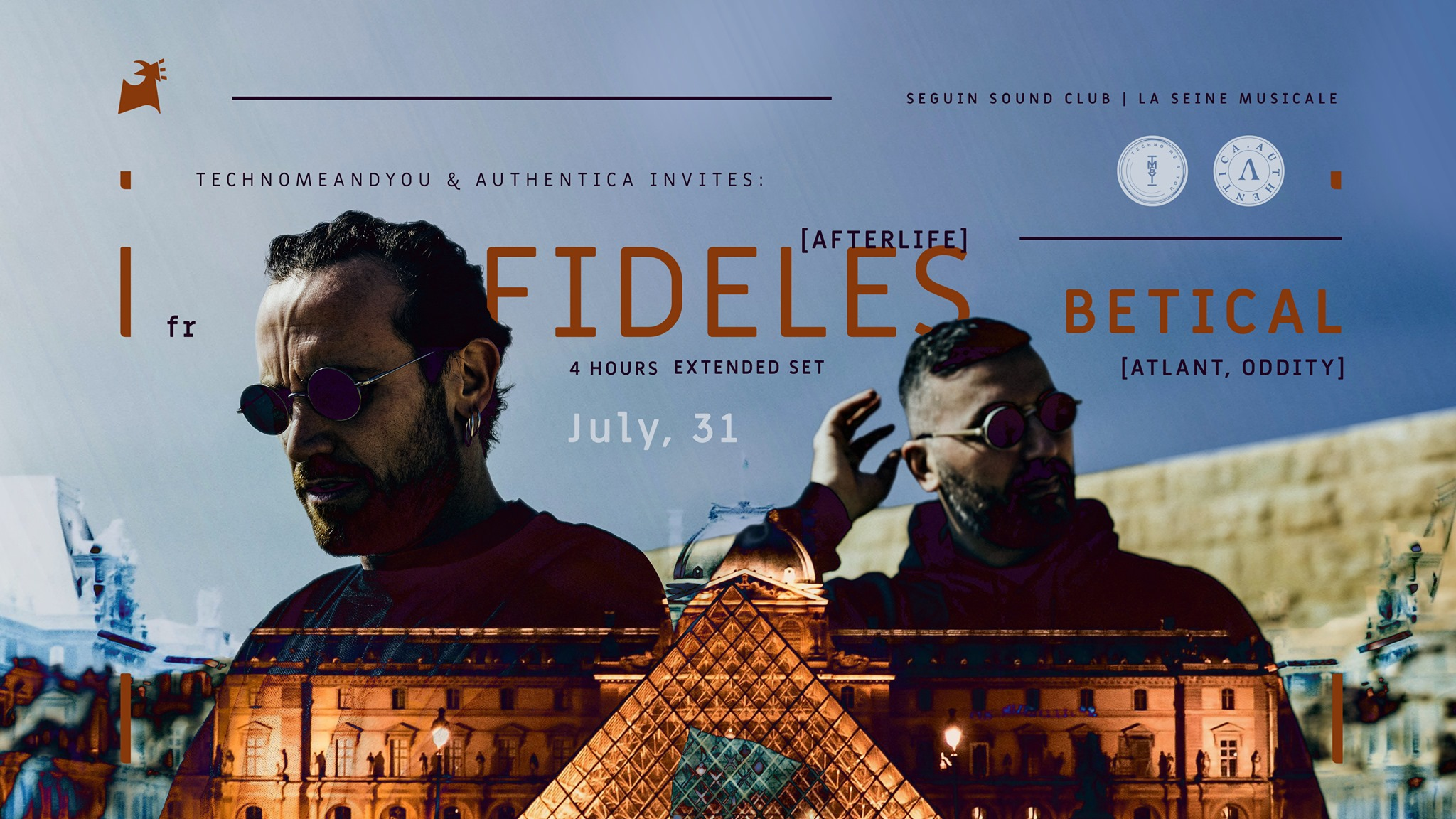 TM&Y and Authentica invites FIDELES [Extended Set] w/ Betical