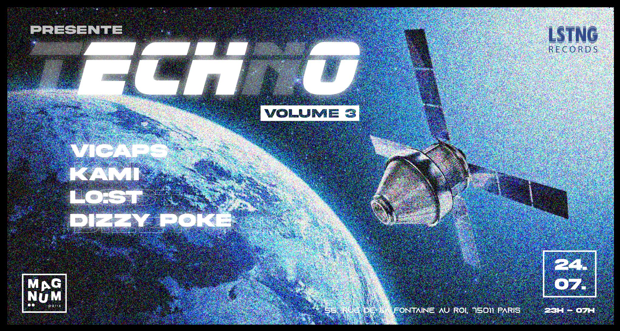 ECHO Vol.3: Vicaps, KAMI., Dizzy Poke, LO:ST, Sosthène