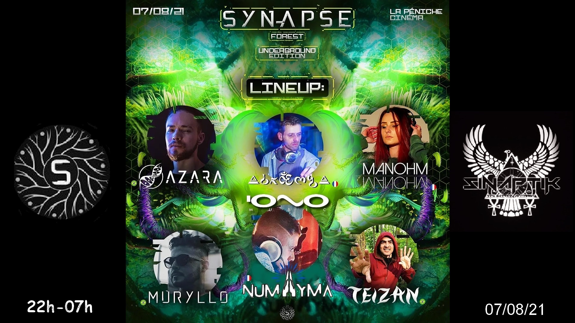 "SINAPTIK & SYNAPSE - ""FoReSt"" - ( UNDERGROUND EDITION )"