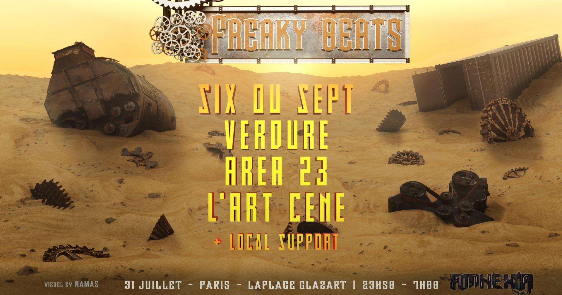 Freaky Beats Acid Party 31.07