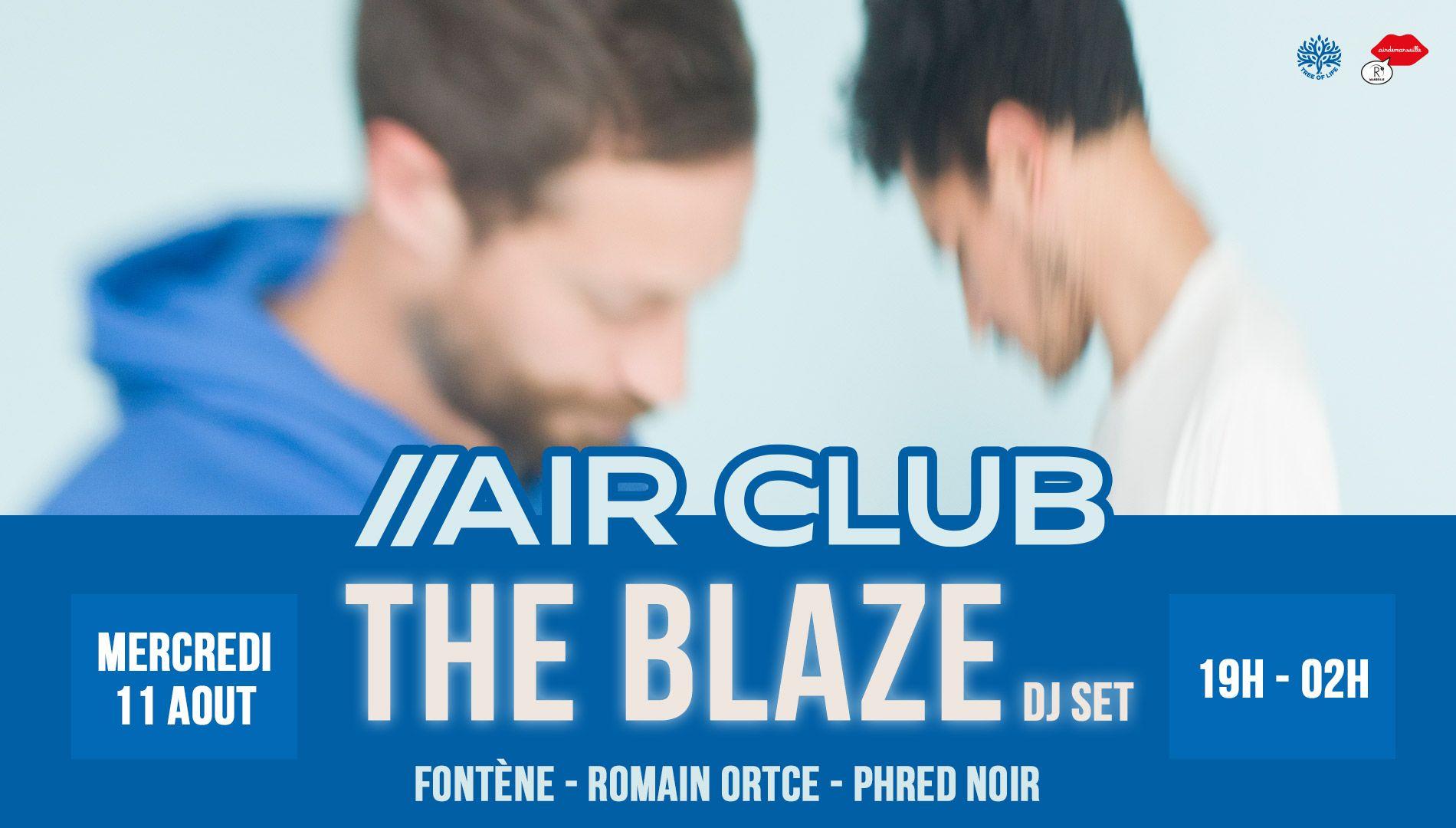 R2 Rooftop x Air Club : THE BLAZE
