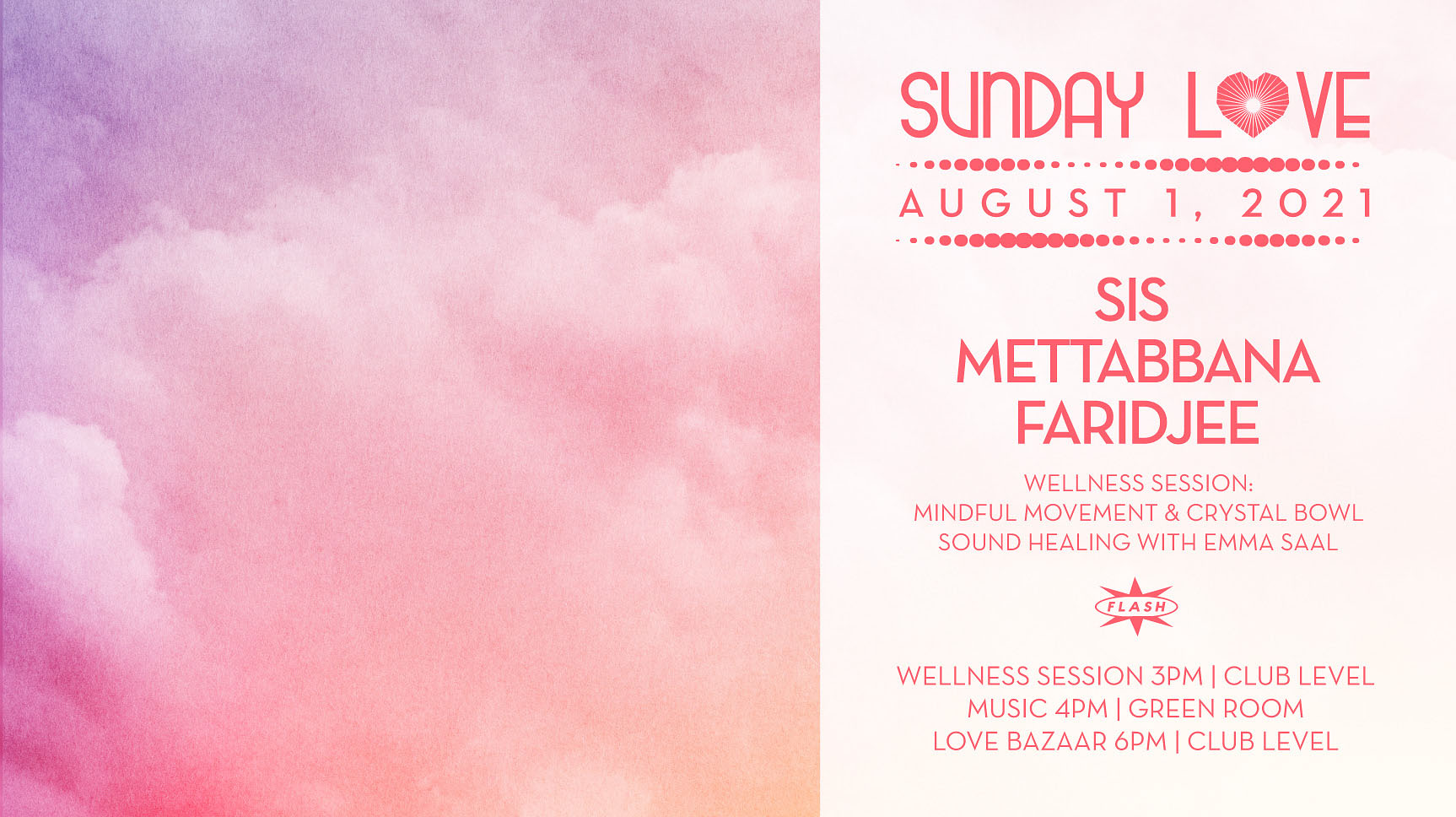 Sunday Love: Sis - Mettabbana - Faridjee