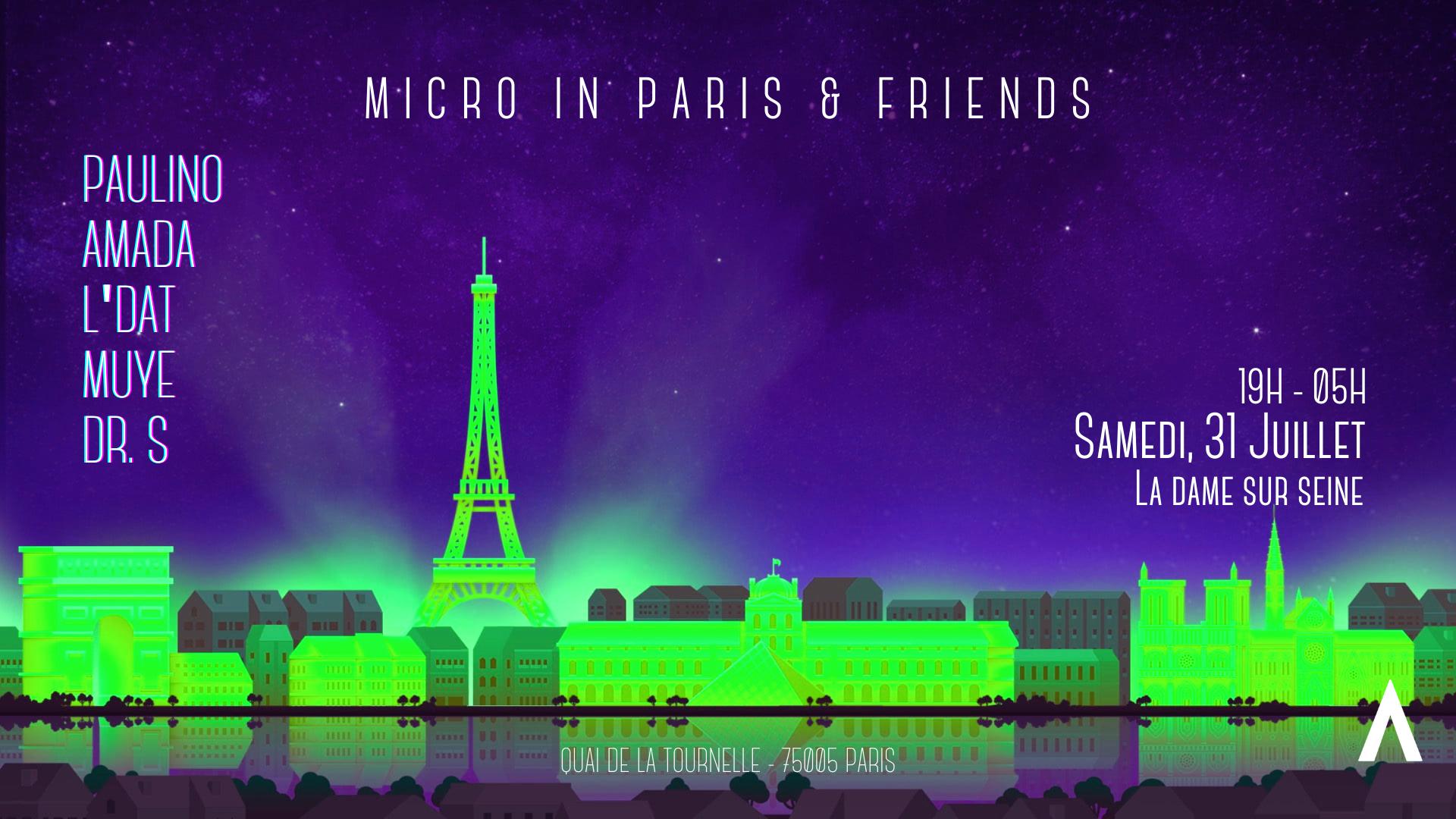 Micro in Paris x Friends : All Night Long #03