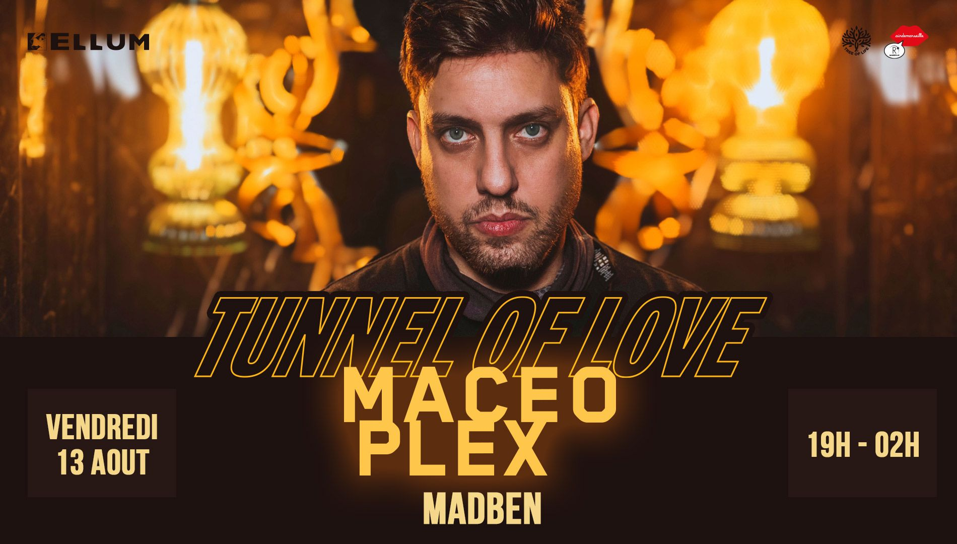 R2 Rooftop x Tunnel Of Love : MACEO PLEX