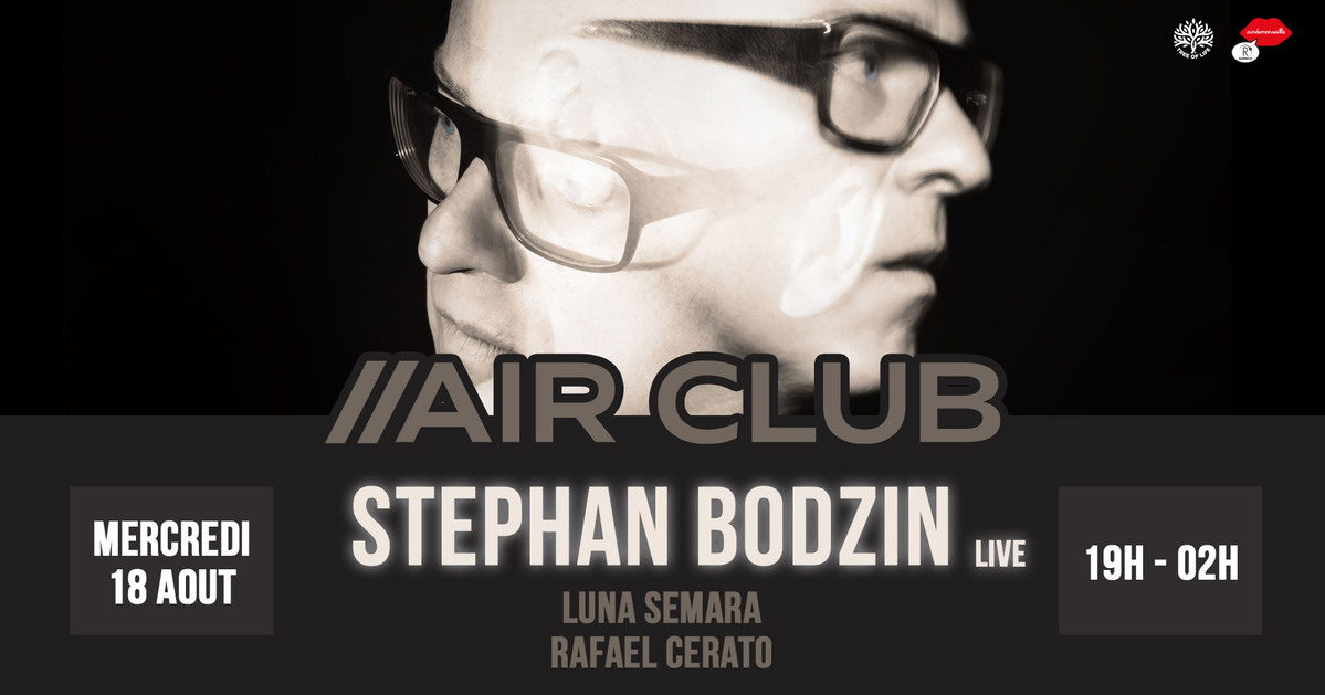 R2 Rooftop x Air Club : STEPHAN BODZIN LIVE