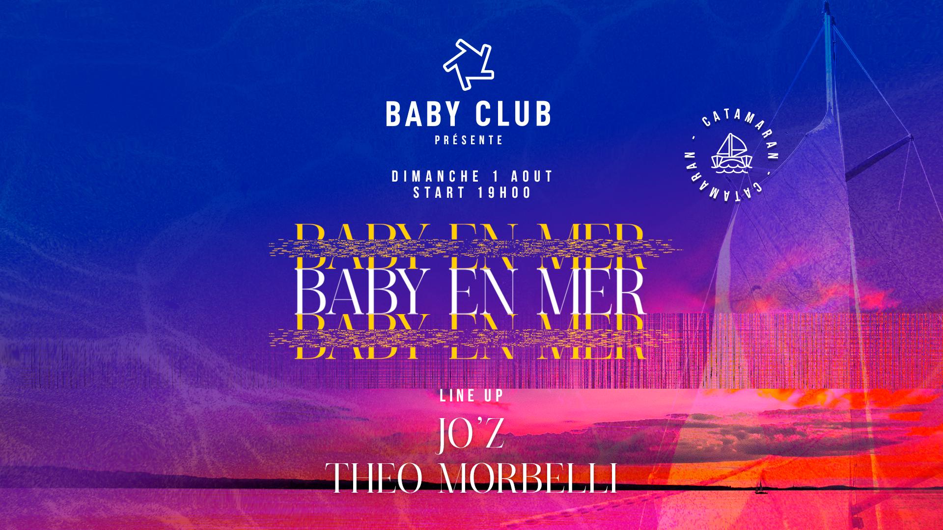 Baby en mer - Jo'z & Théo Morbelli