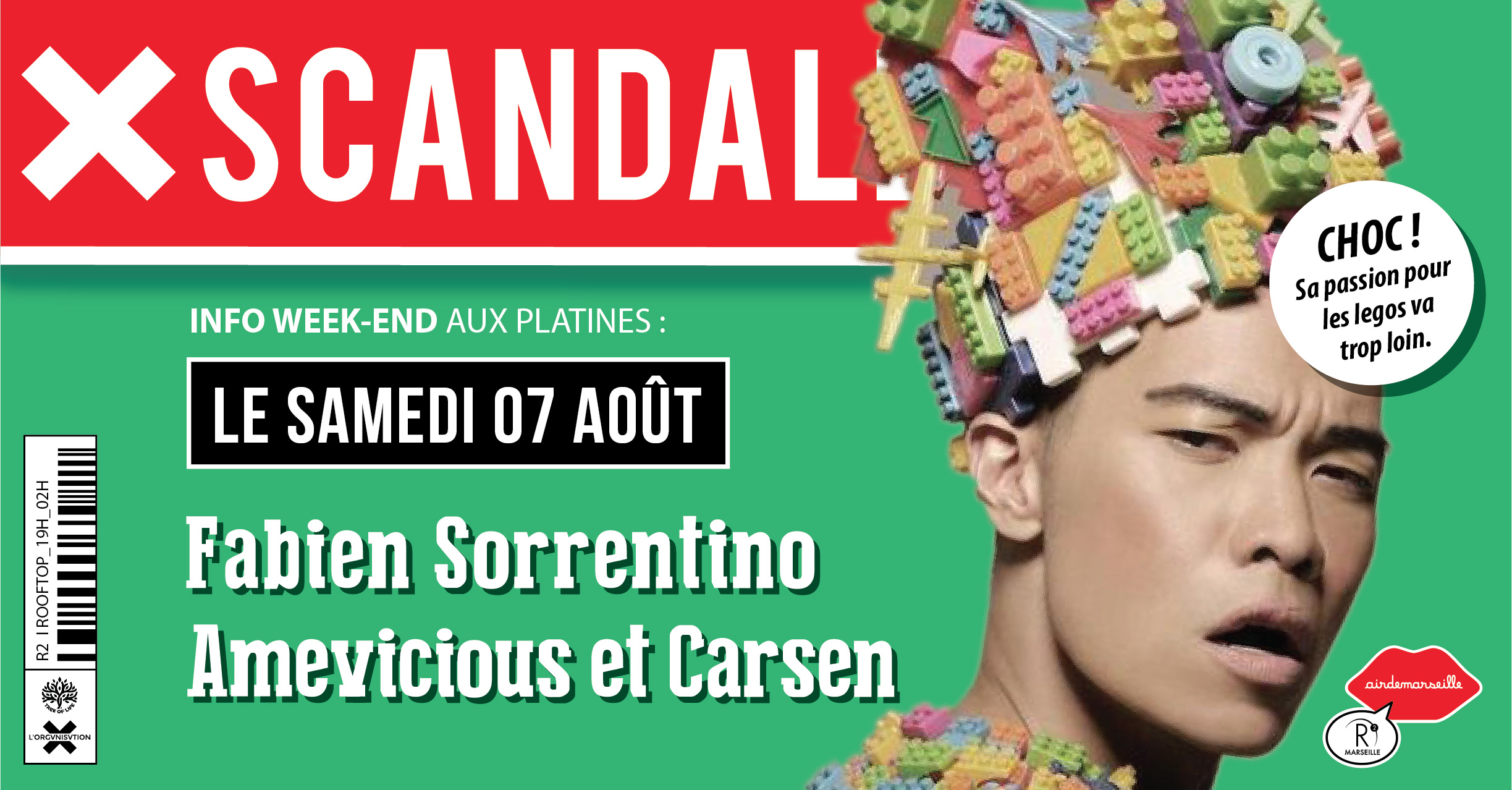 R2 ROOFTOP X SCANDALE - FABIEN SORRENTINO - AMEVICIOUS - CARSEN