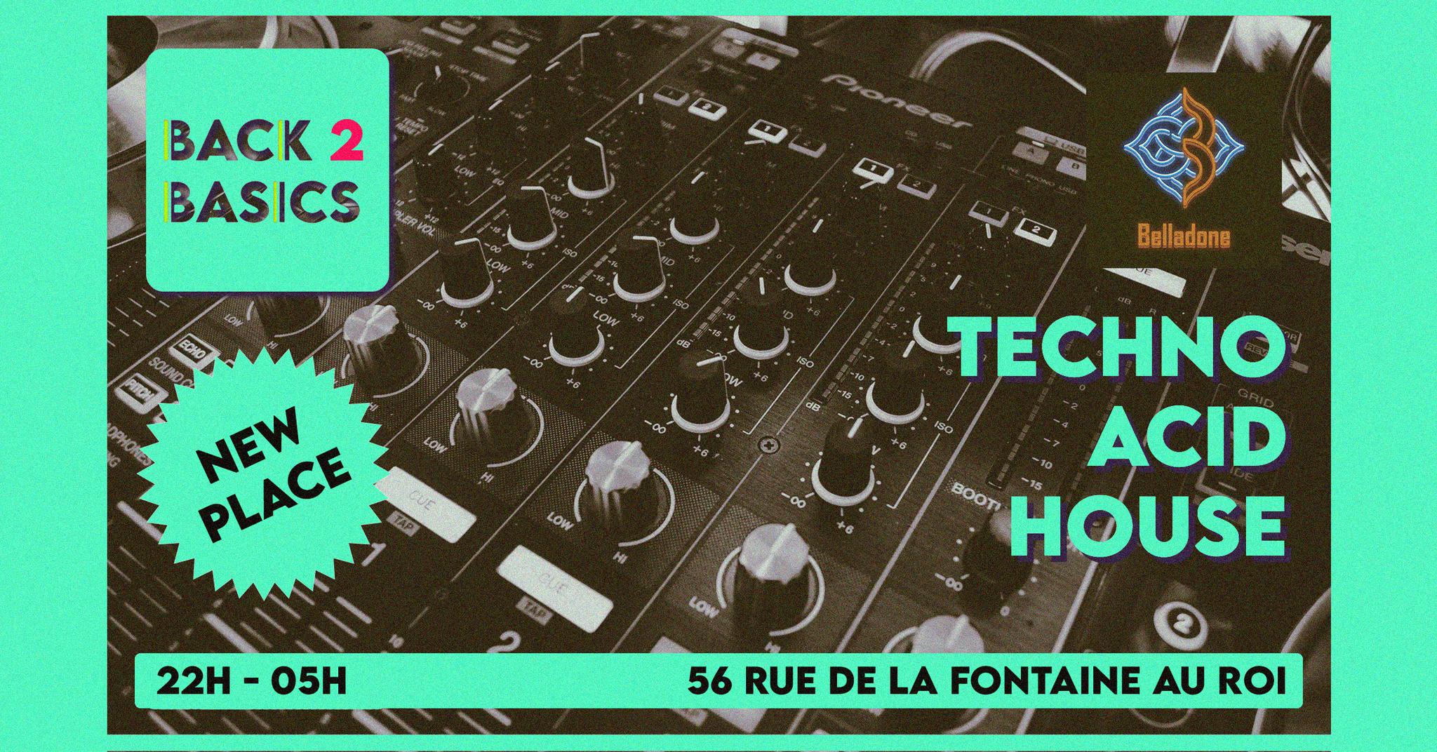 NEW PLACE // - Back To Basics - Techno/Acid/House
