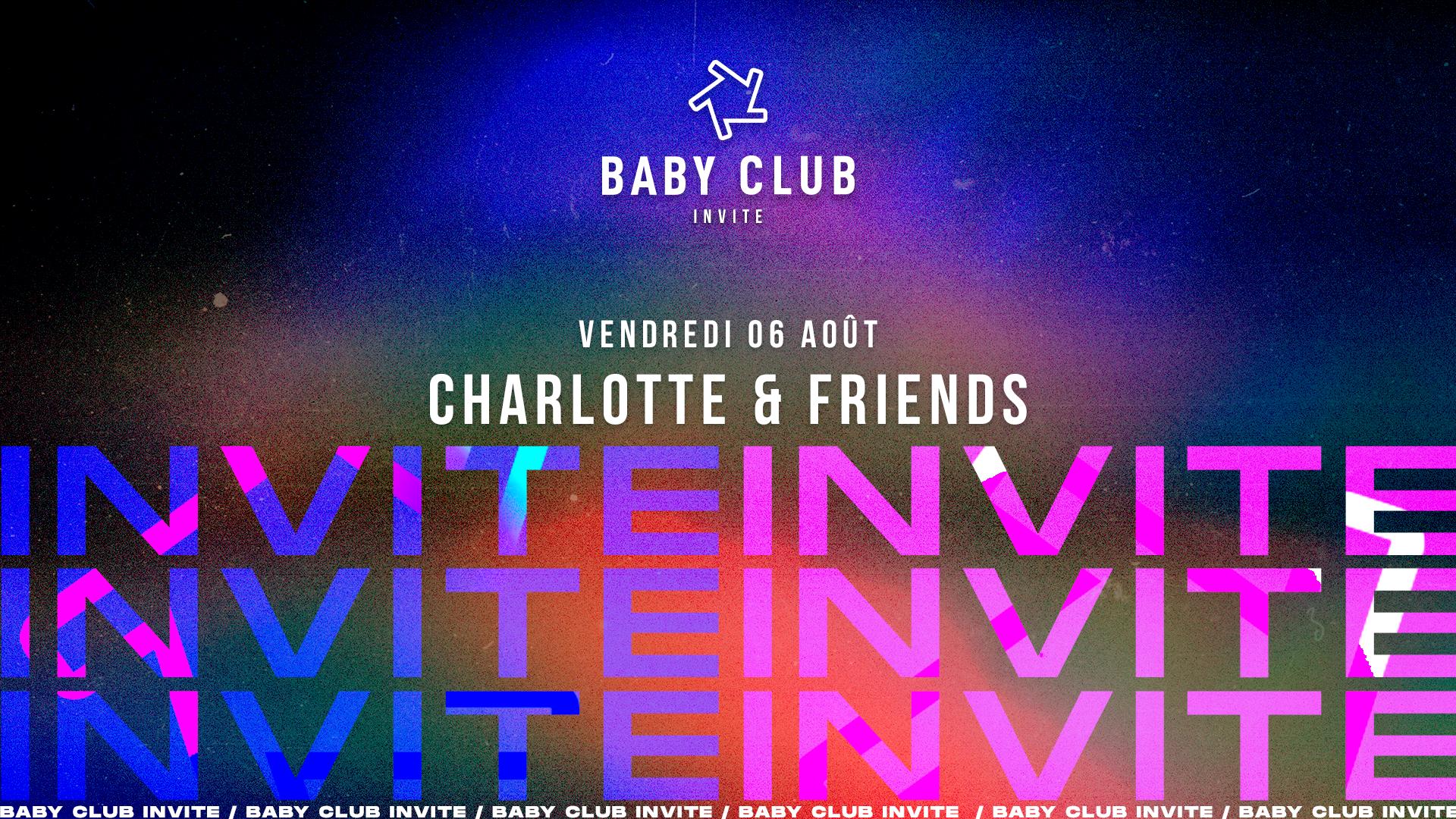 Baby invite Charlotte & Friends
