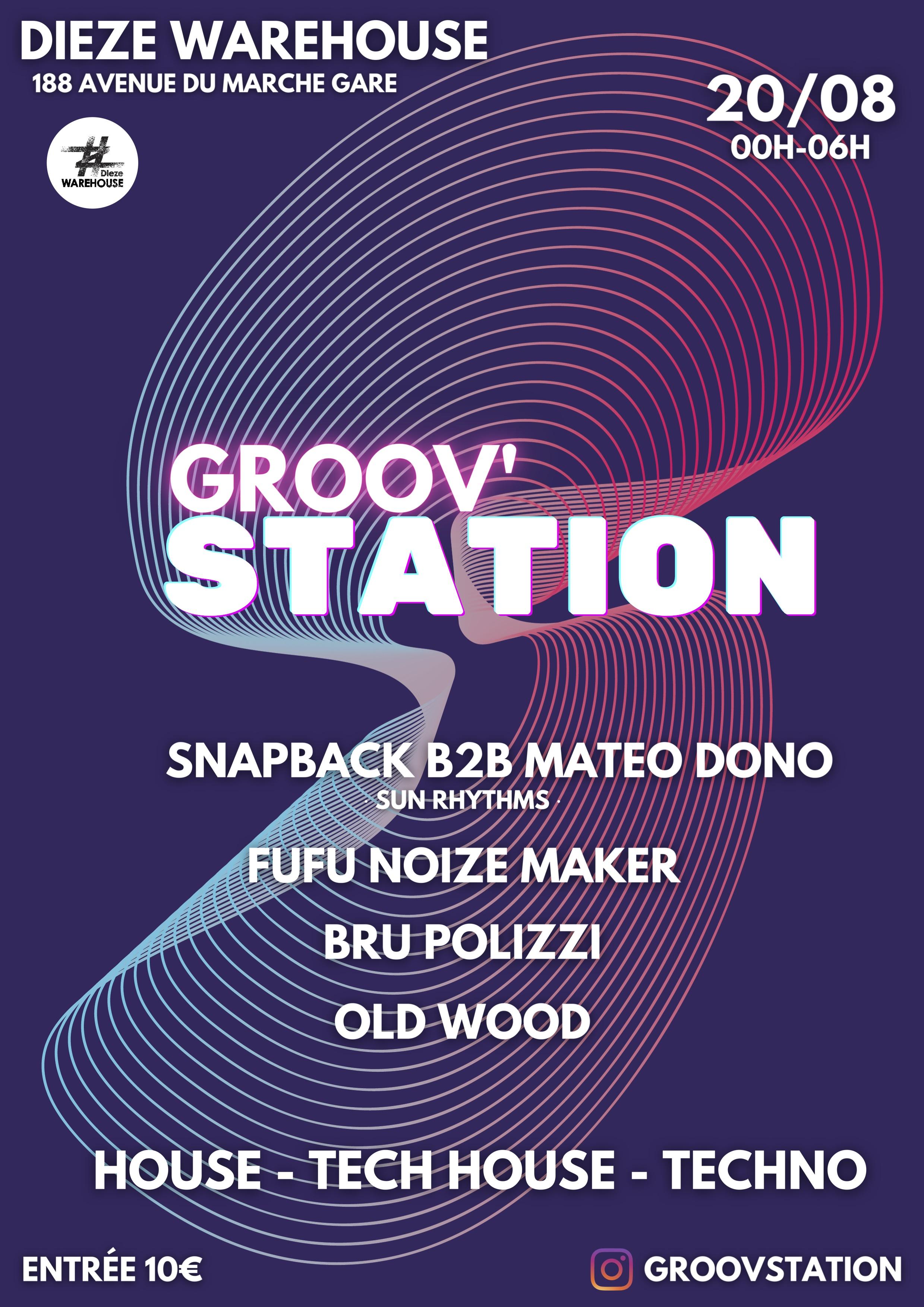 groov'station