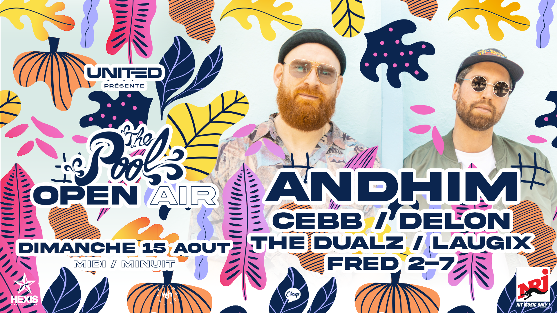 The Pool Open Air : ANDHIM 15/08