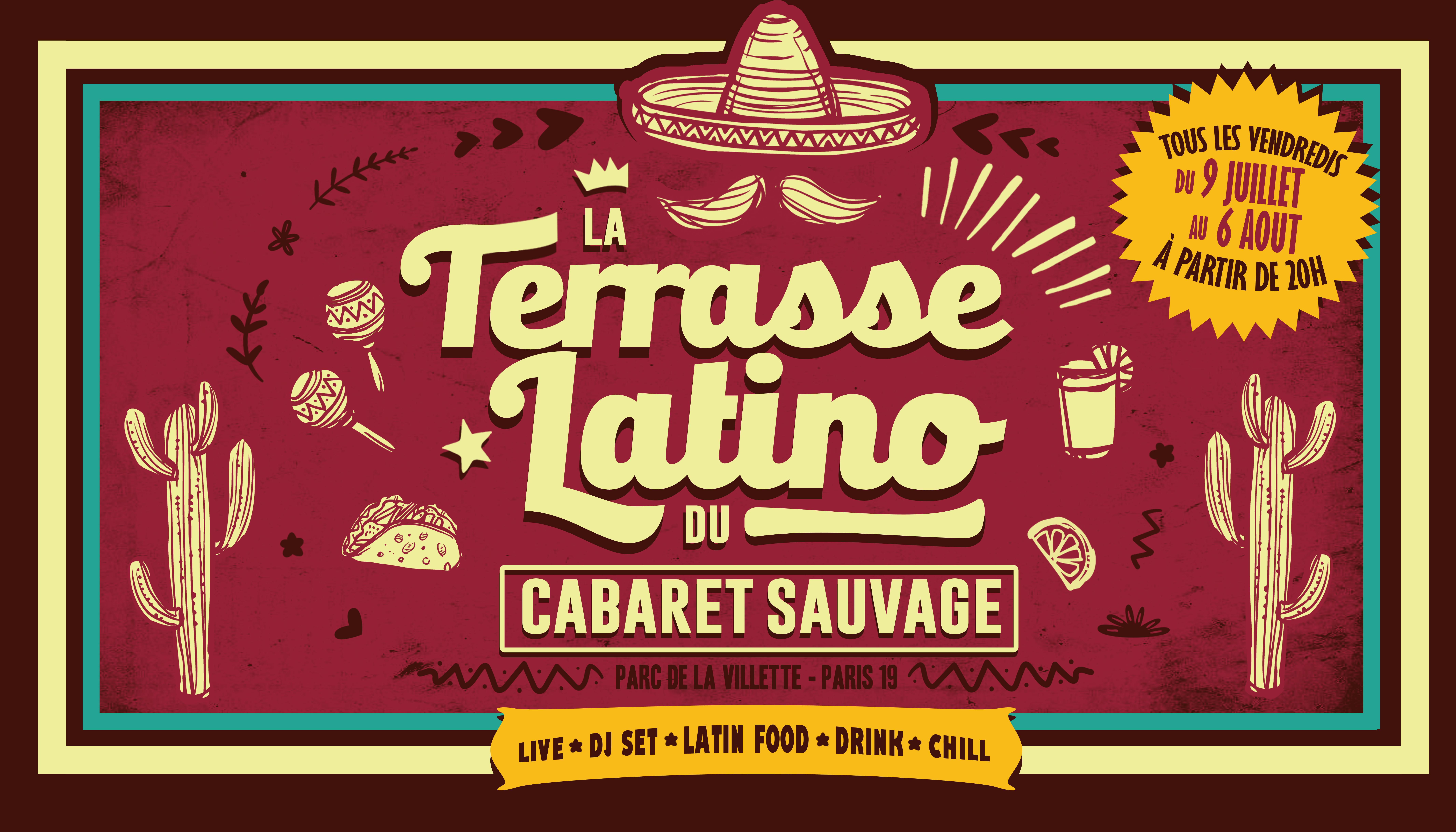 La Terrasse Latino - Vendredi 13 Aout 2021