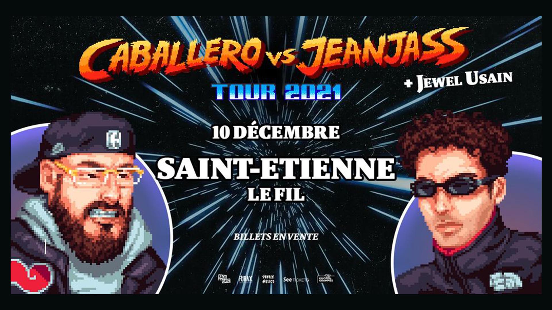 Caballero VS Jeanjass + Jewel Usain