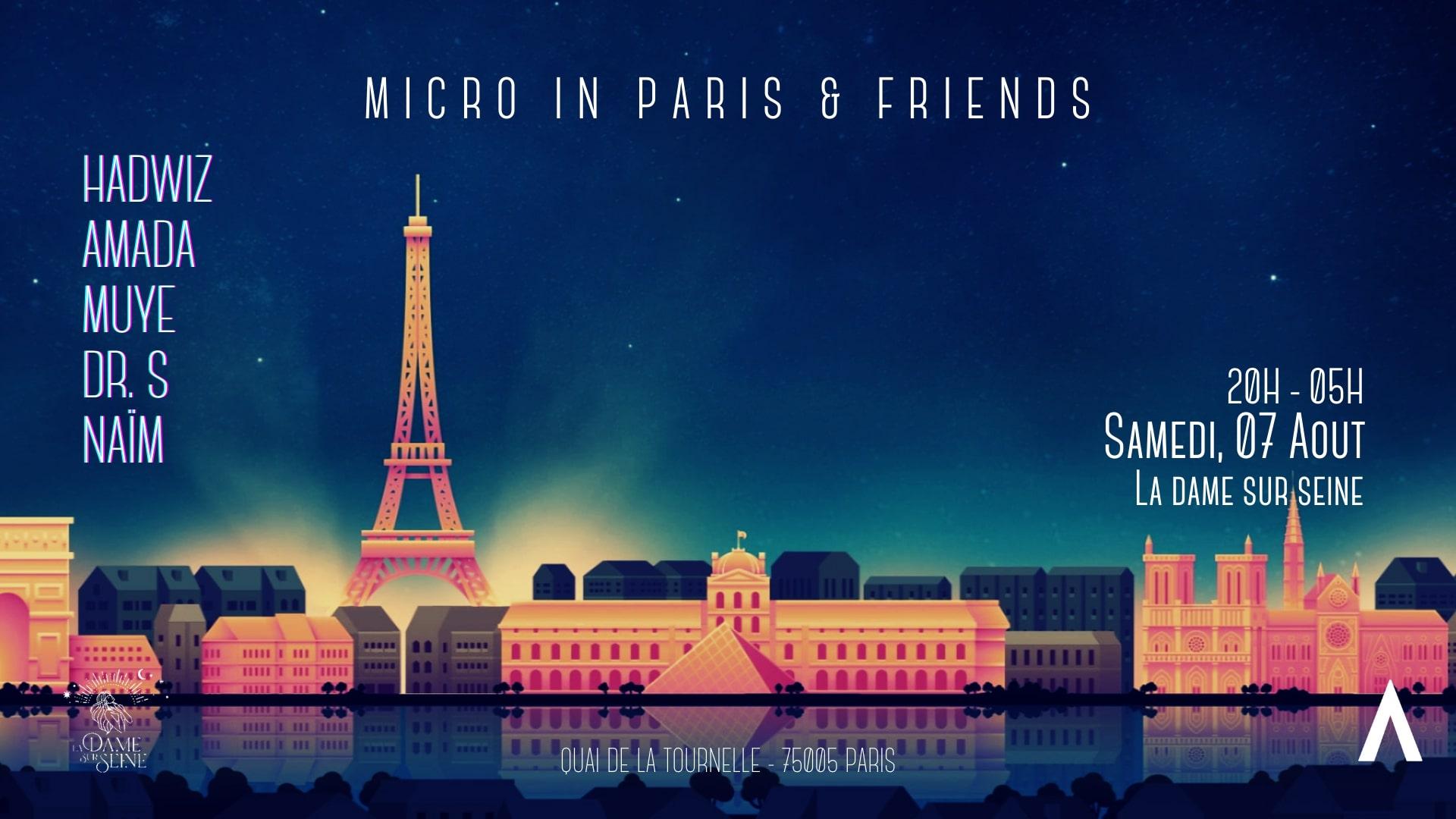 Micro in Paris x Friends - All Night Long #04