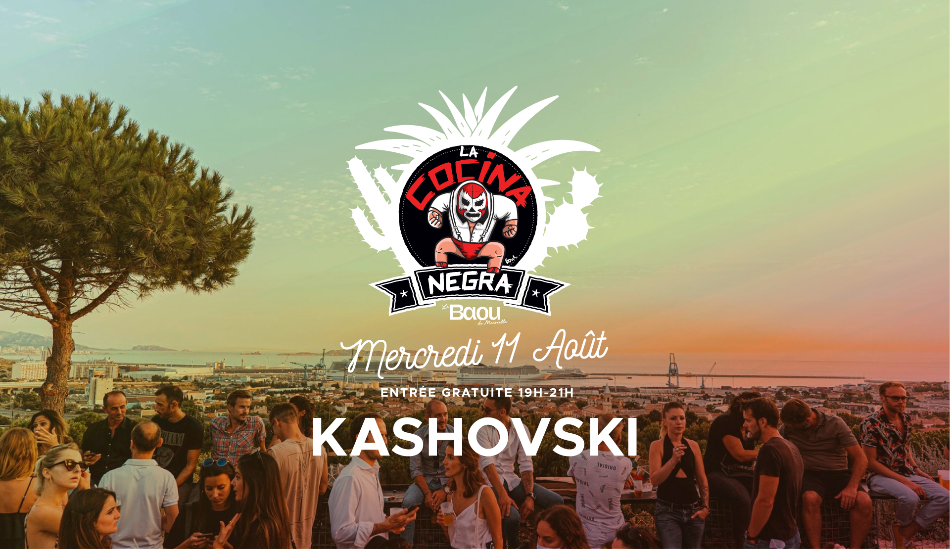 La Cocina Negra : KASHOVSKI
