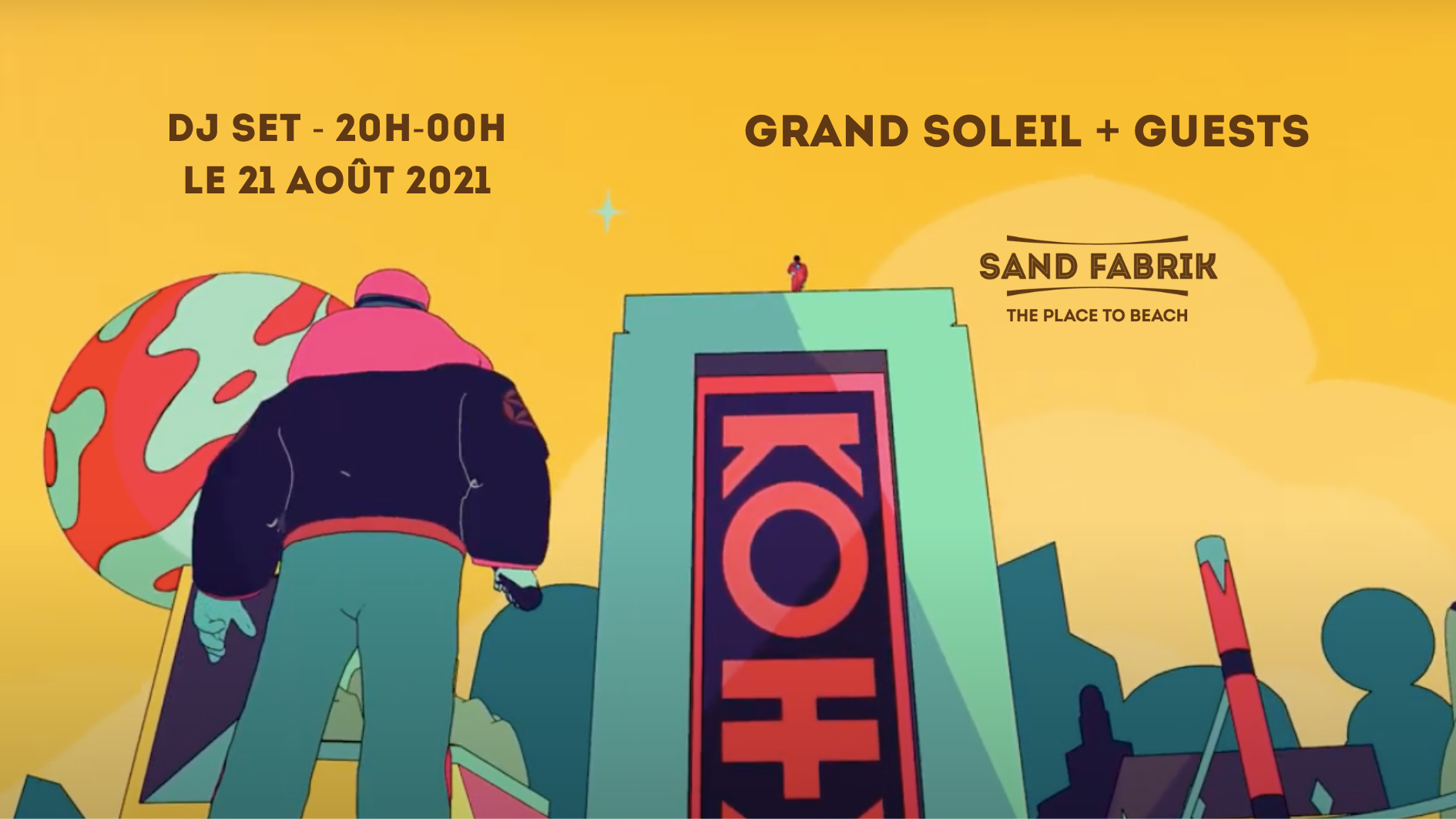 Grand Soleil X Sand Fabrik