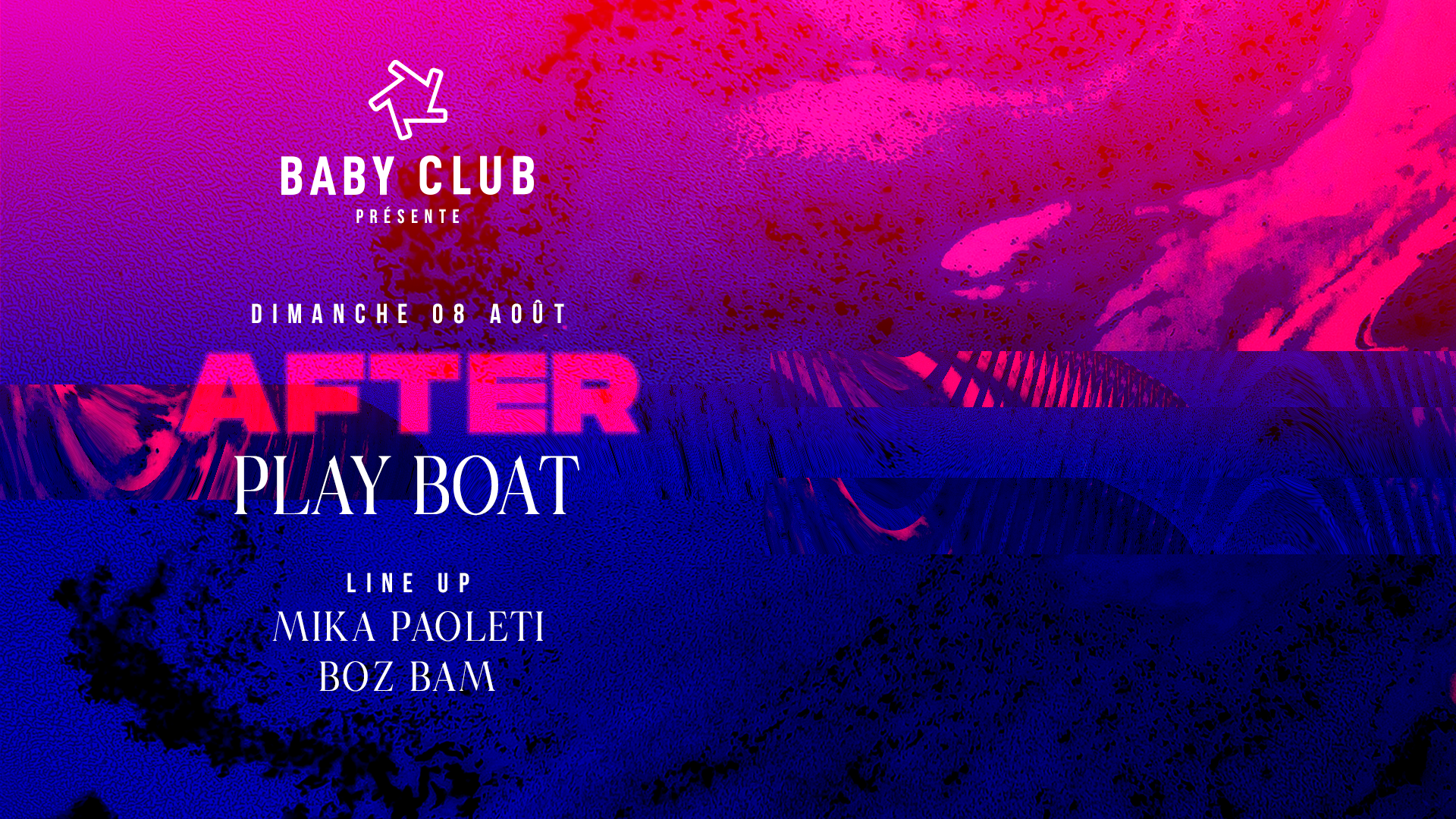 Baby : After play boat