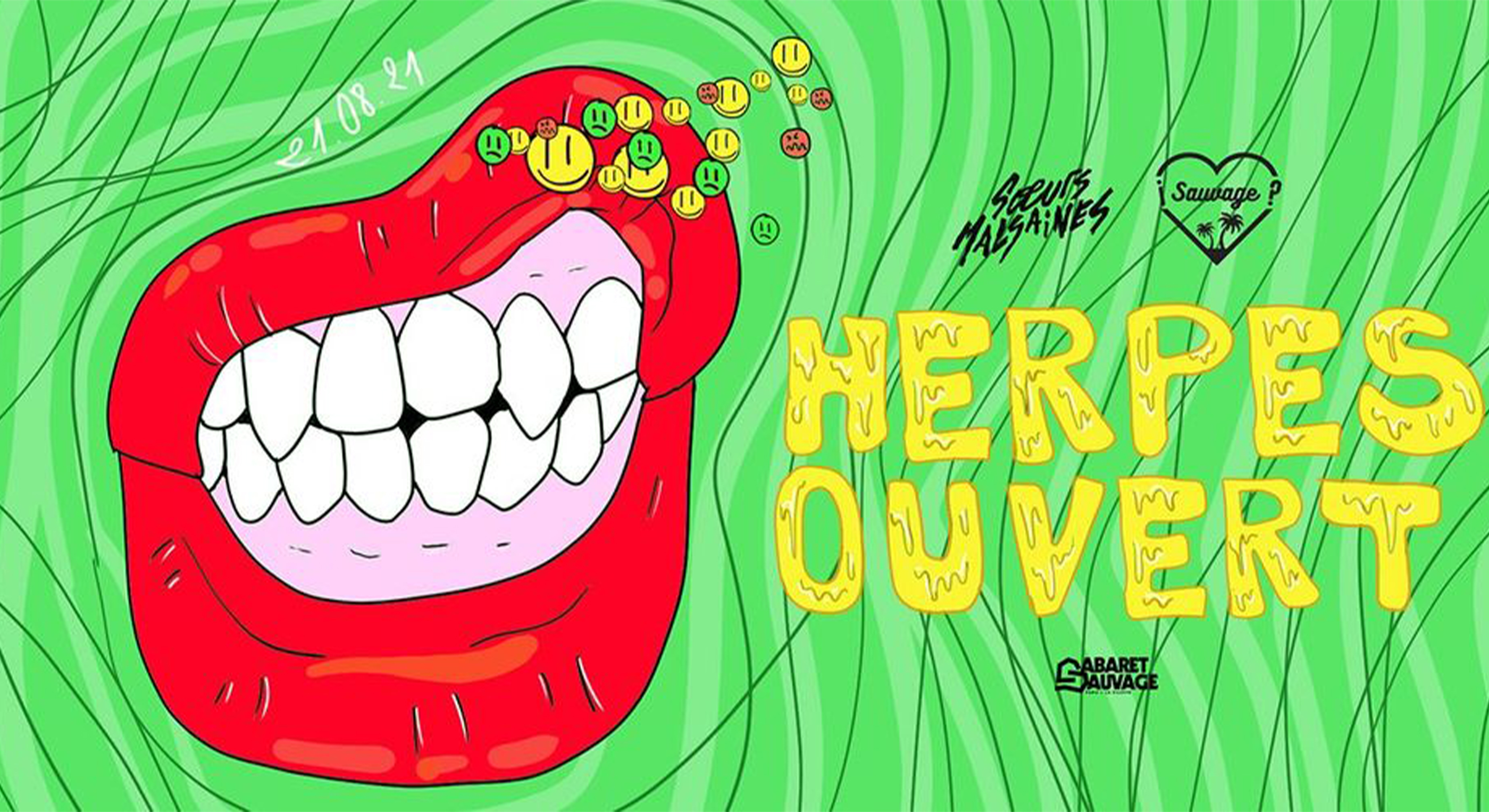 ¡Herpes Ouvert? La Rechute