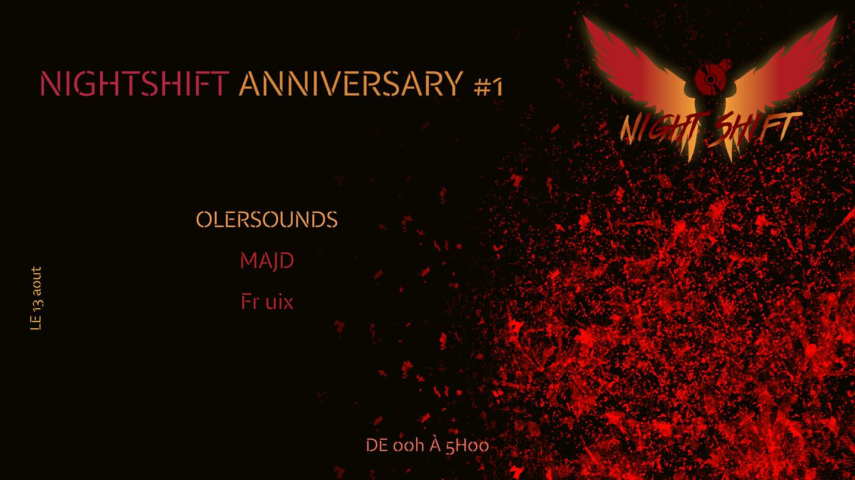 Nightshift Anniversary #1 - Melodic House & Techno