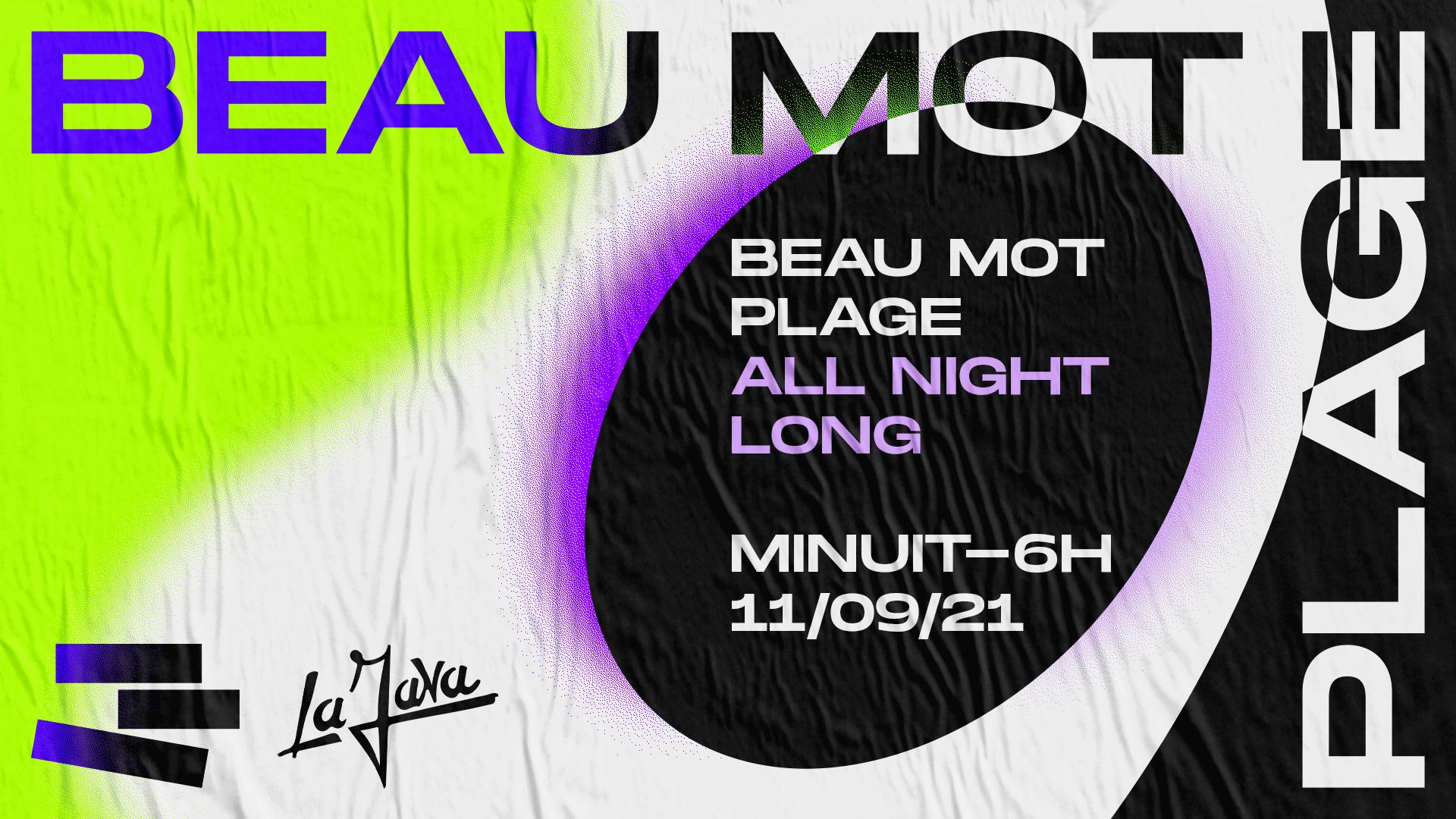 LA JAVA : BEAU MOT PLAGE - All night long